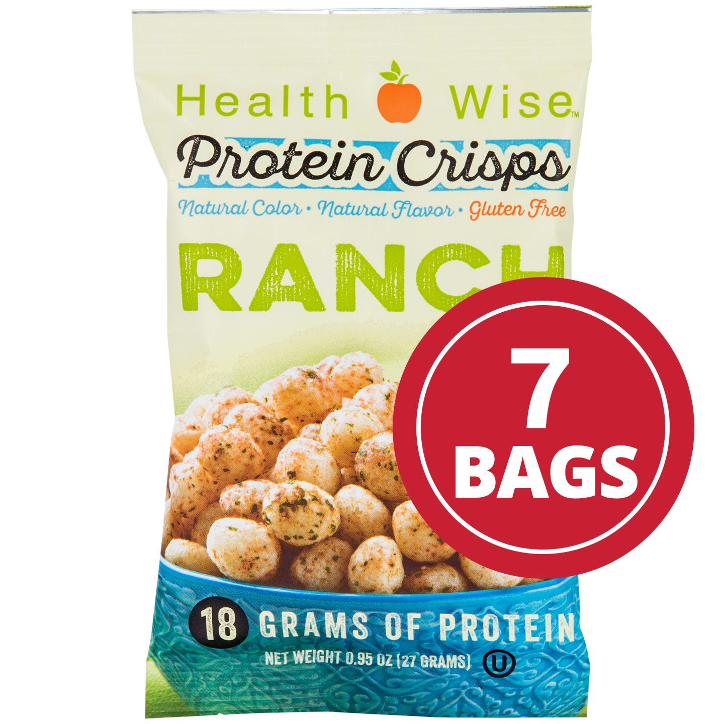 BariWise Ranch Protein Crisps (7 Ct)