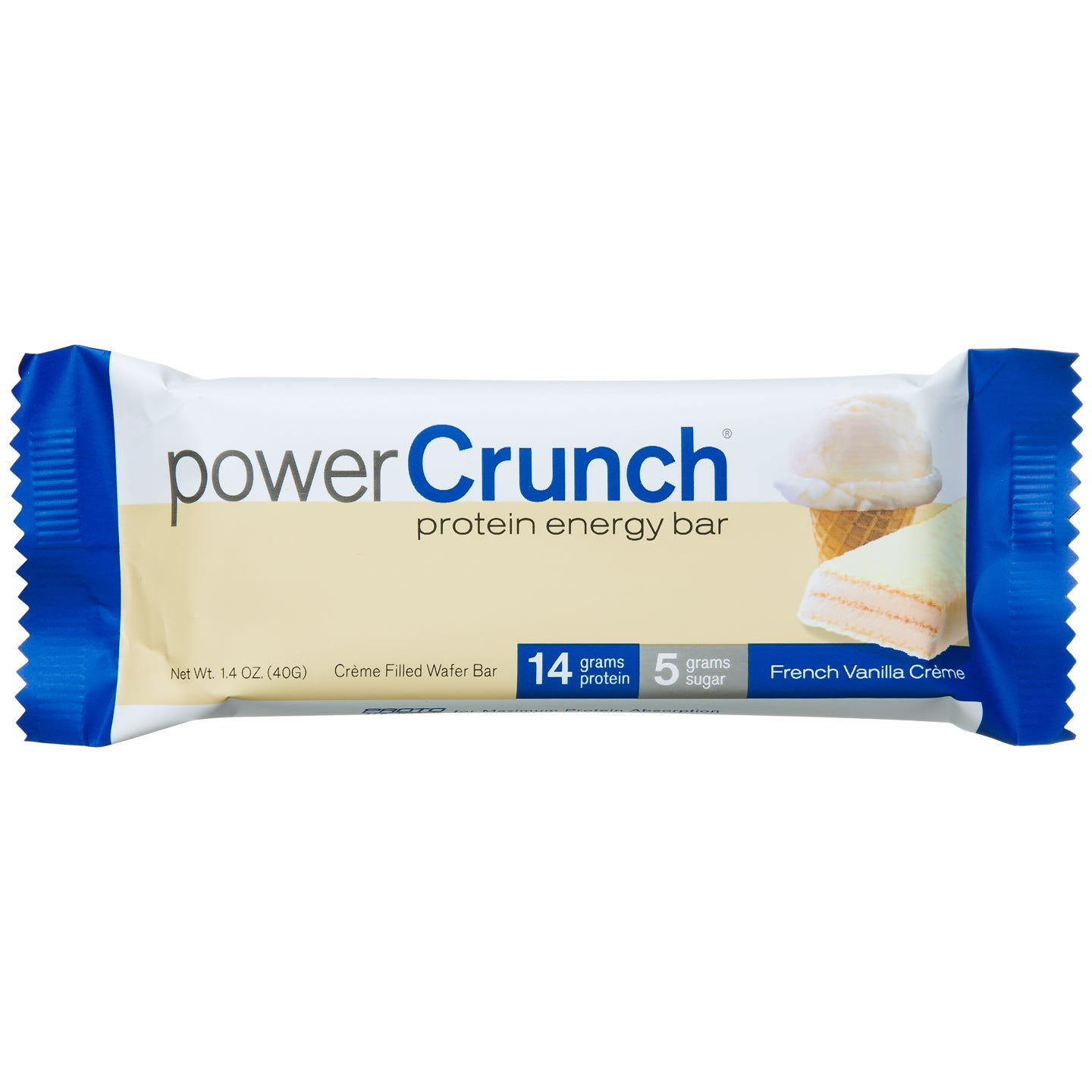 Power Crunch Protein Bars - Vanilla Creme