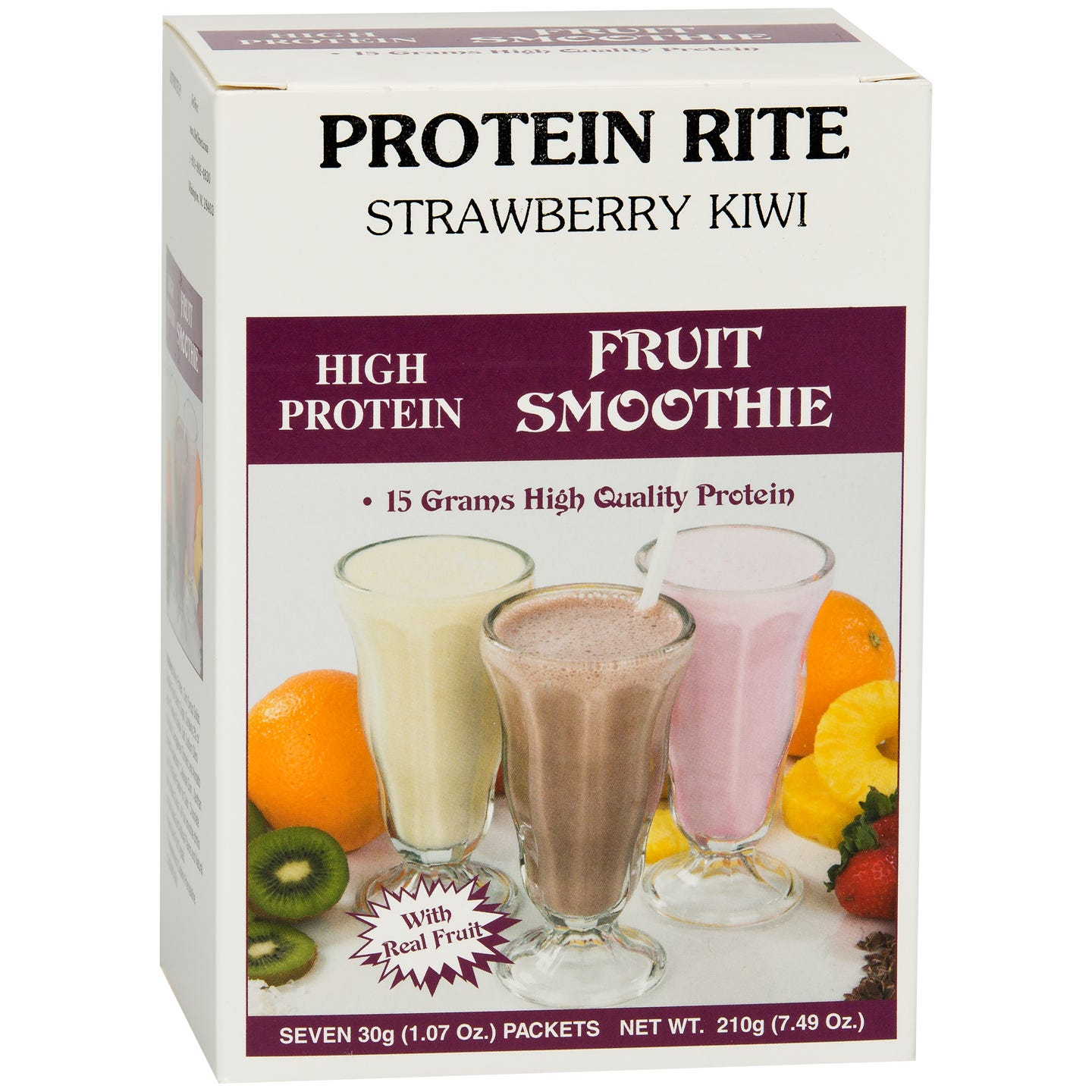 Protein Rite Fruit Smoothies - Strawberry Kiwi