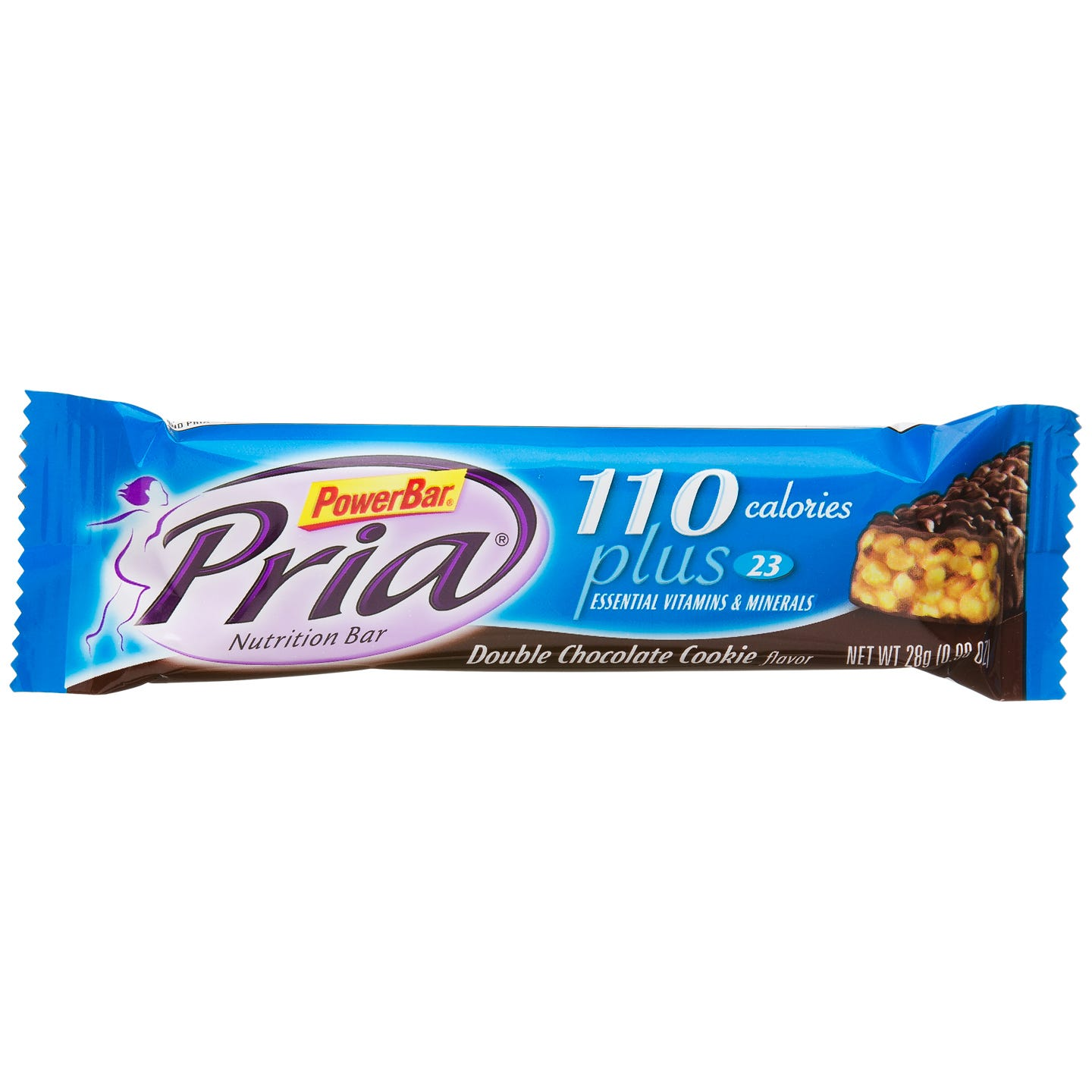 PowerBar Pria Nutrition Protein Bars - Double Chocolate Cookie