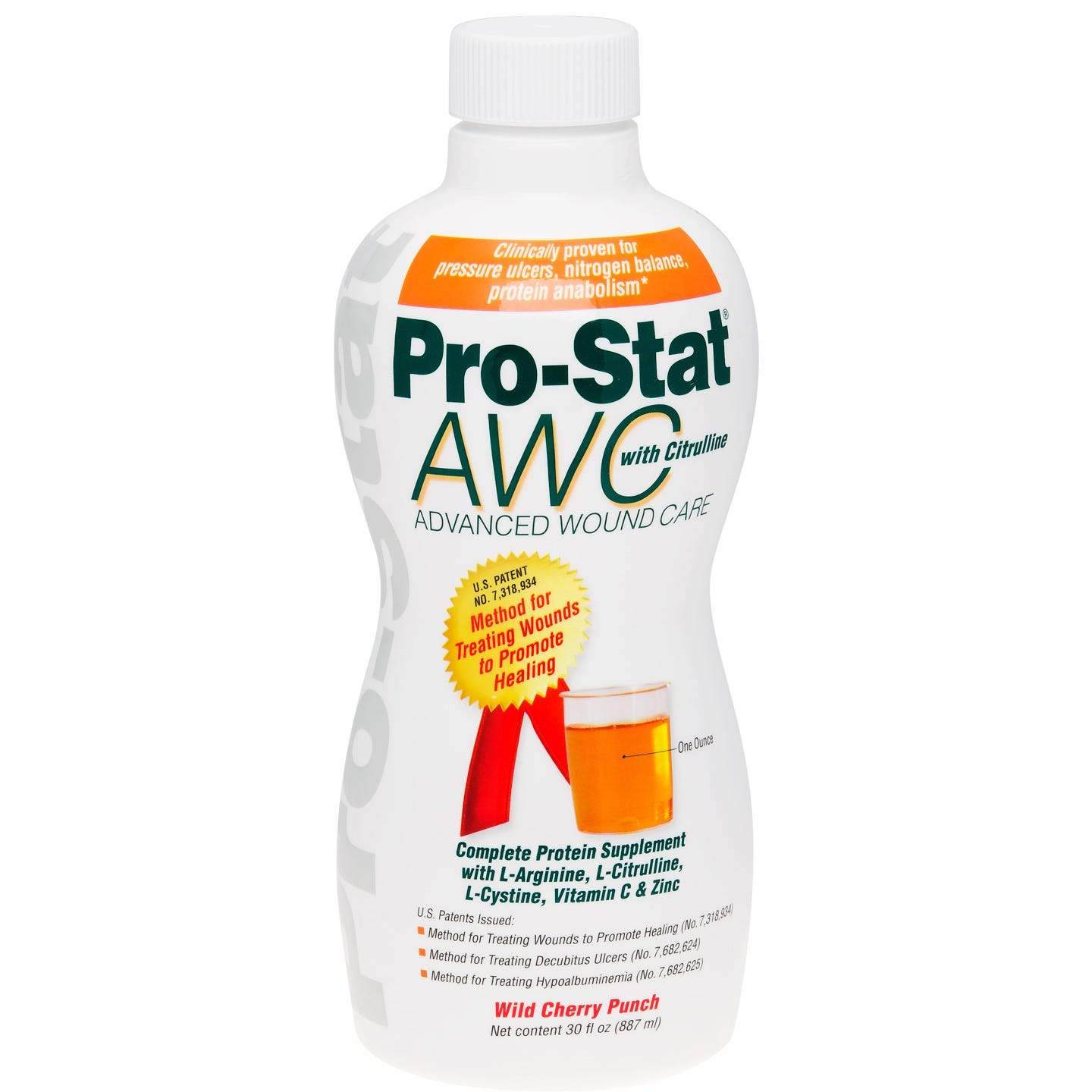 Pro-Stat AWC Liquid Protein, 30 oz. (Wild Cherry Punch)