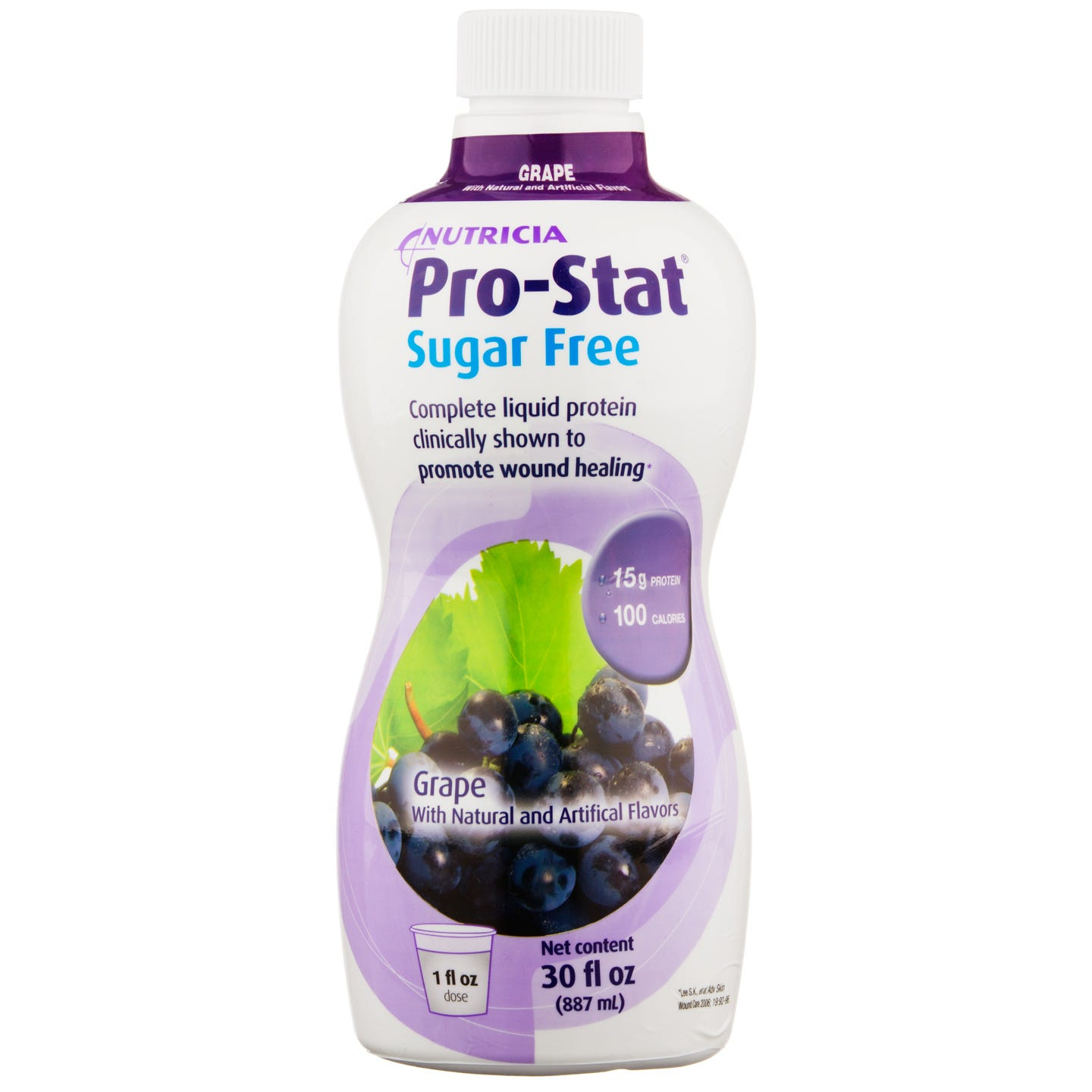 Pro-Stat Sugar Free Liquid Protein Grape Flavor 30 fl oz - Rapid Diet Weight Loss Products Shop