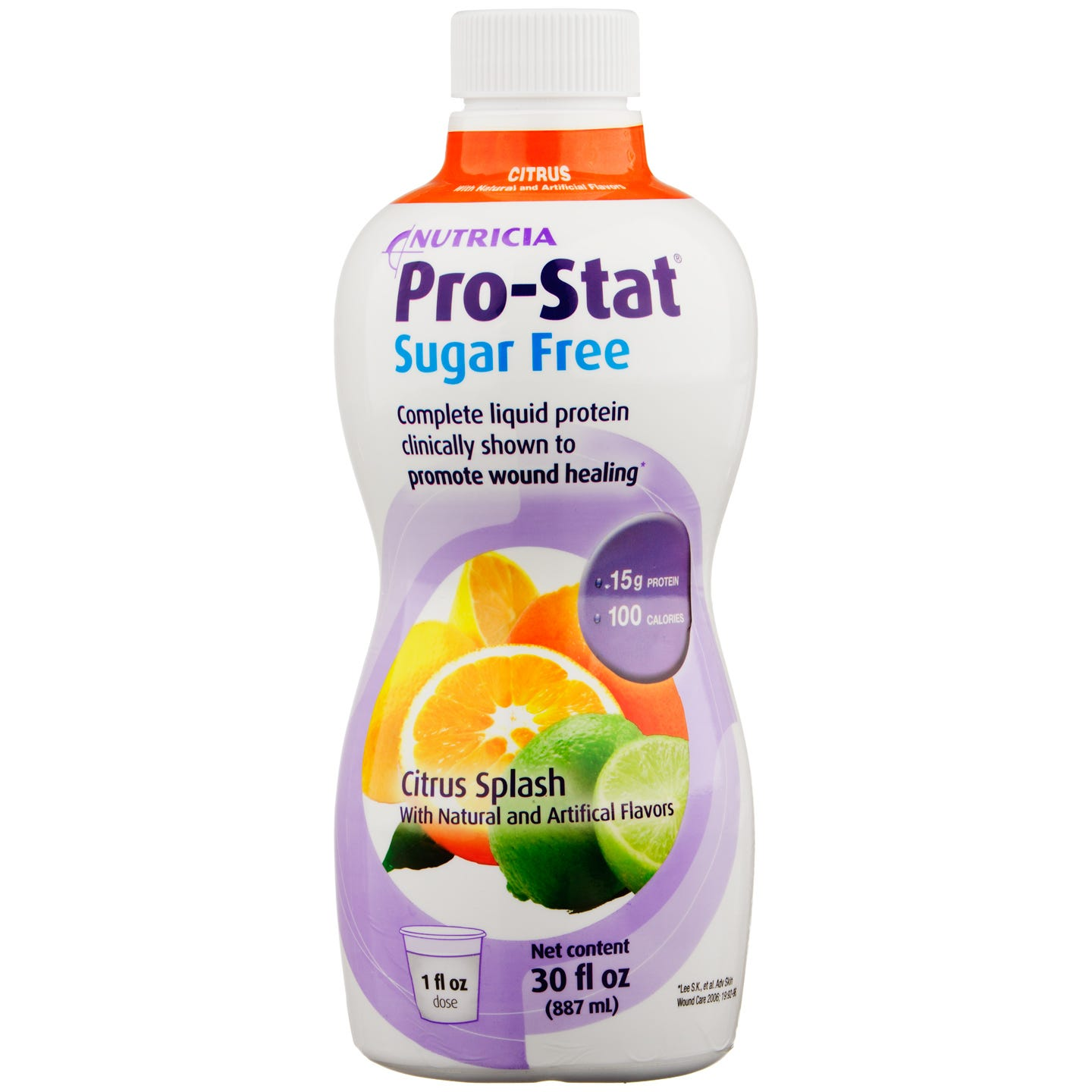 Pro-Stat Sugar Free Liquid Protein Citrus Splash Flavor 30 fl oz - Rapid Diet Weight Loss Products Shop