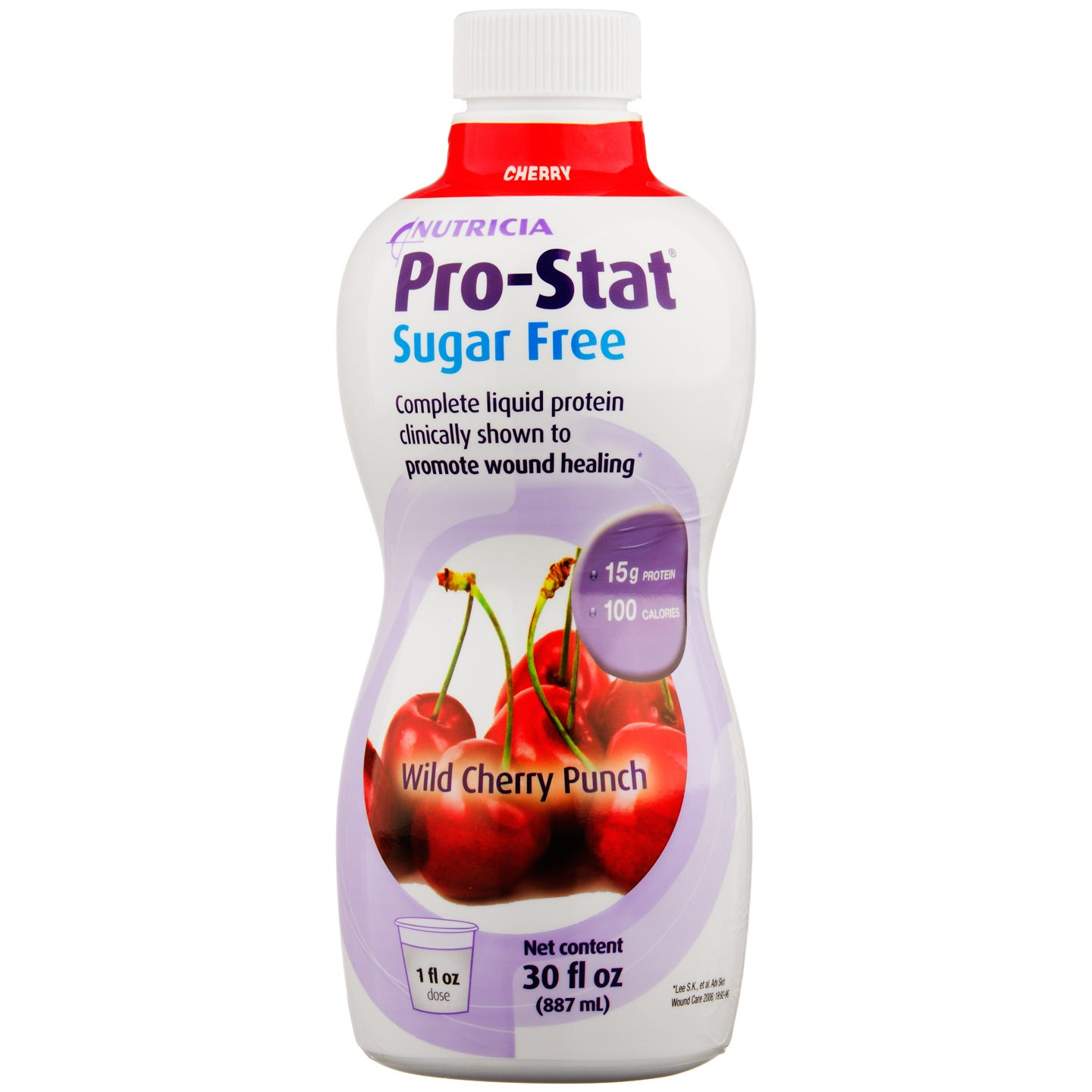 Pro-Stat Sugar Free Liquid Protein Wild Cherry Flavor 30 fl oz - Rapid Diet Weight Loss Products Shop