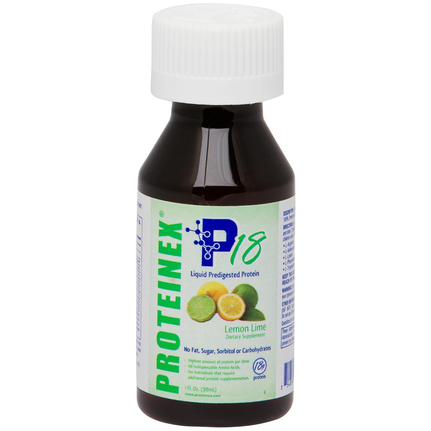 Proteinex-18 Liquid Protein 1 oz. - Lemon Lime