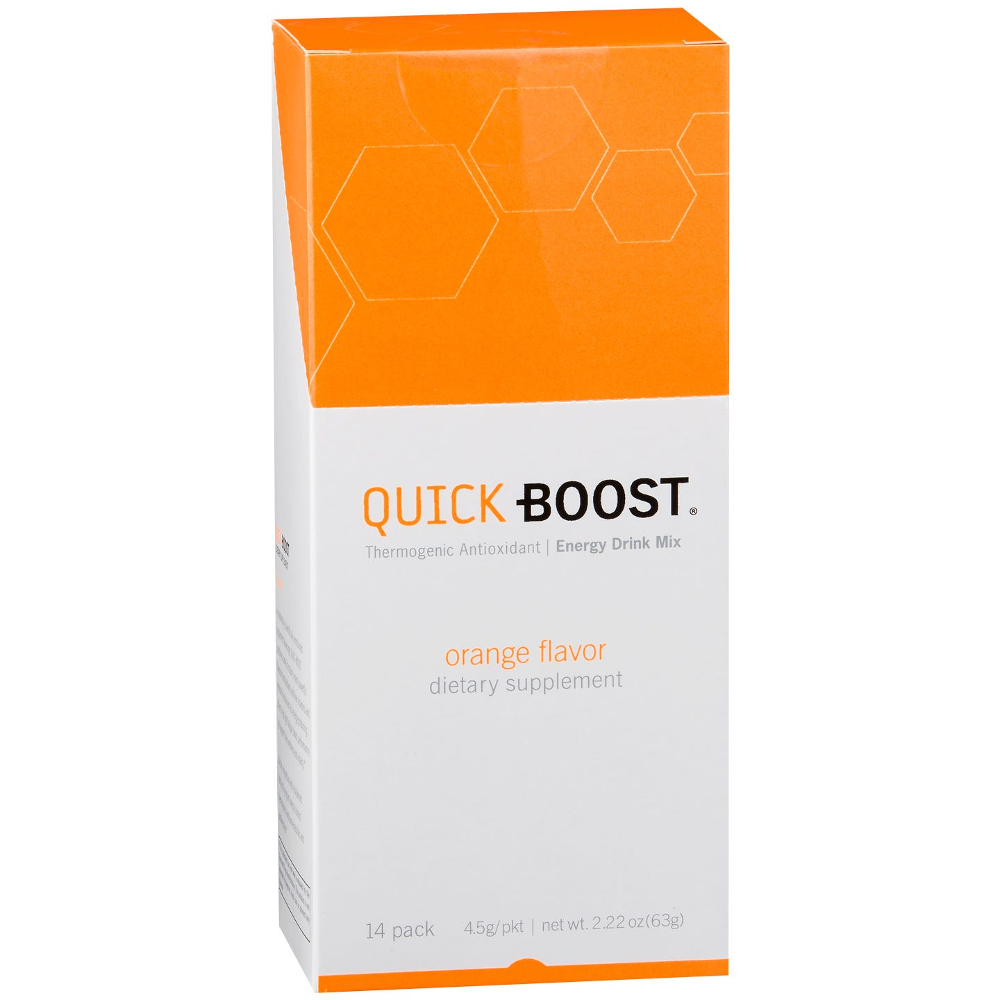 QUICK-BOOST - Orange