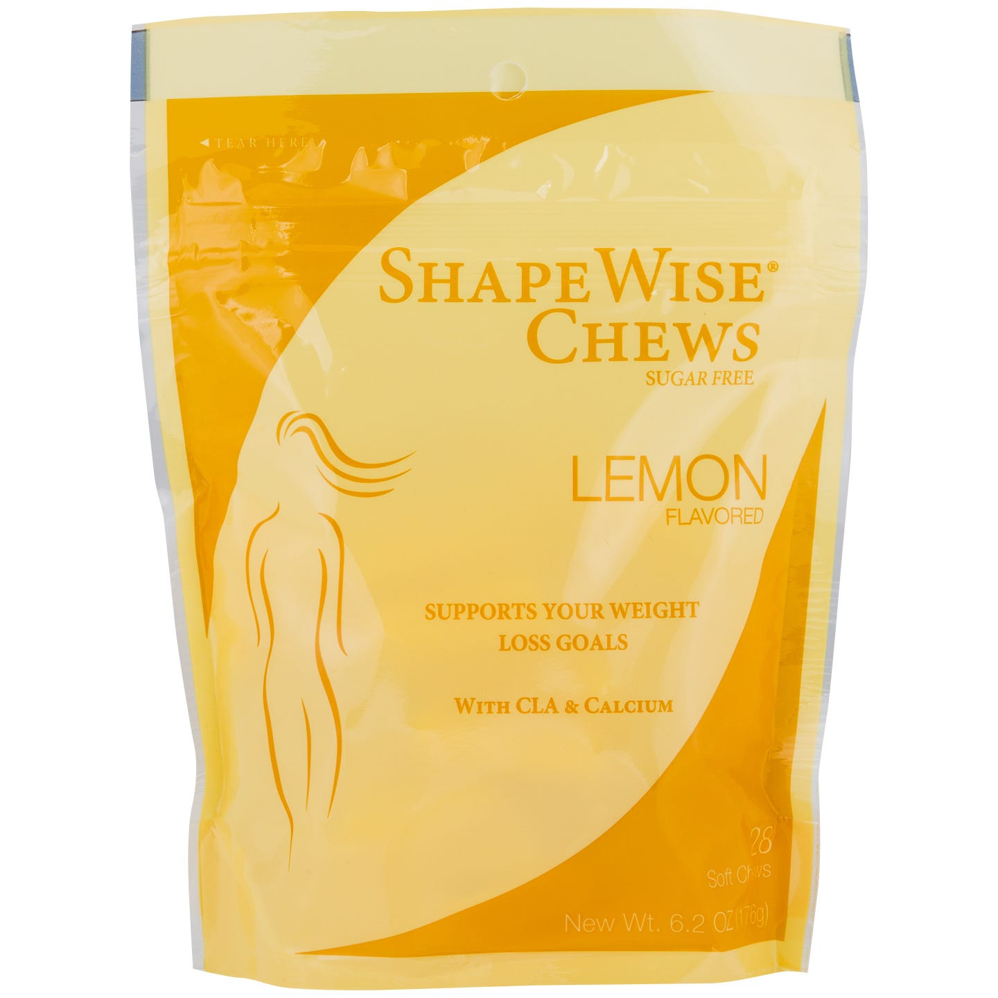 Sugar-Free Chews with CLA Lemon (28 pc) - ShapeWise