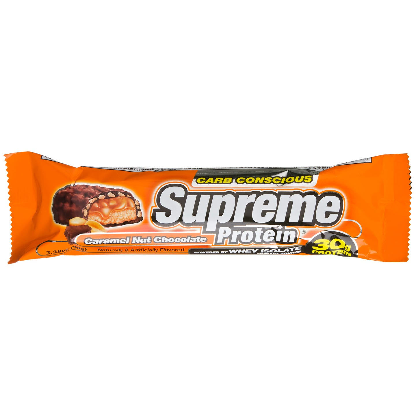 Supreme Protein Quadruple Layer Protein Bar - Caramel Nut Chocolate CC