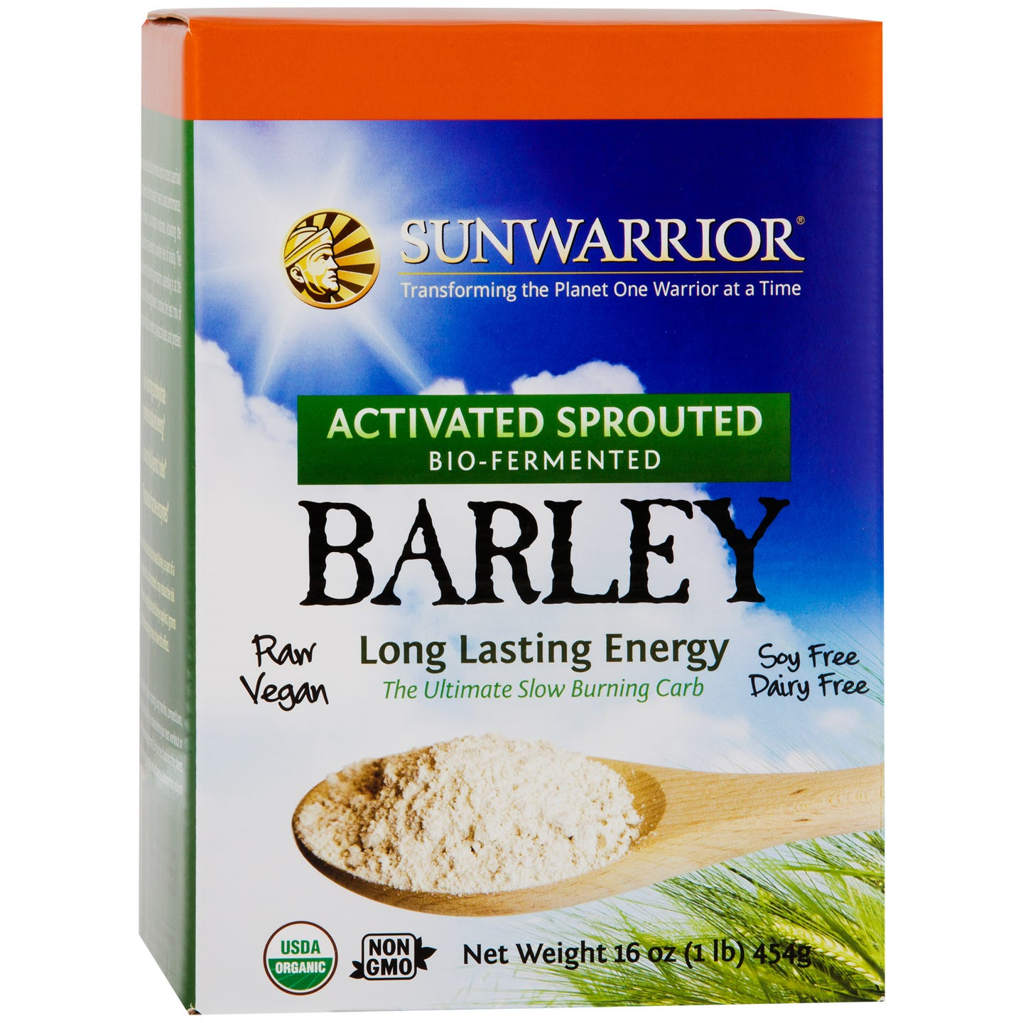 Activated Barley 1lb, Sunwarrior - Rapid Diet Weight Loss Products Shop
