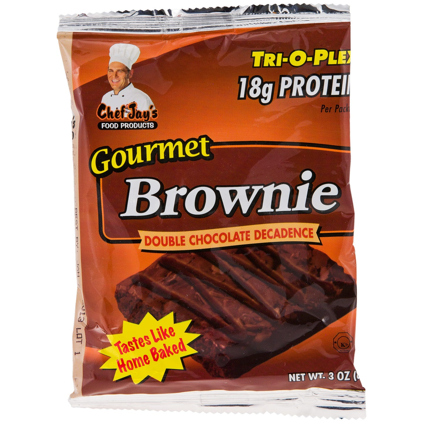 Tri-O-Plex Gourmet Brownies - Double Chocolate Decadence
