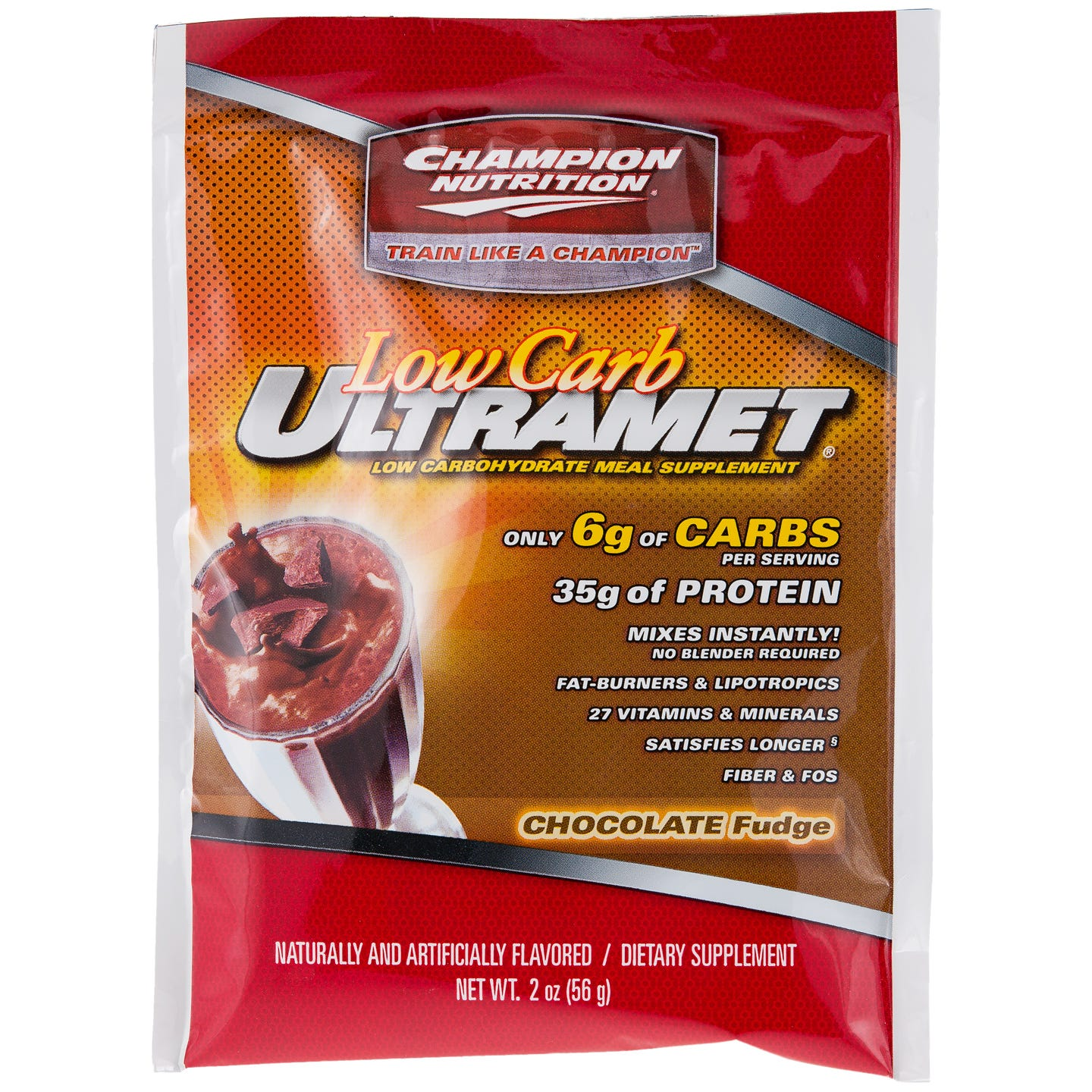 Champion Nutrition Low Carb UltraMet - Chocolate Fudge