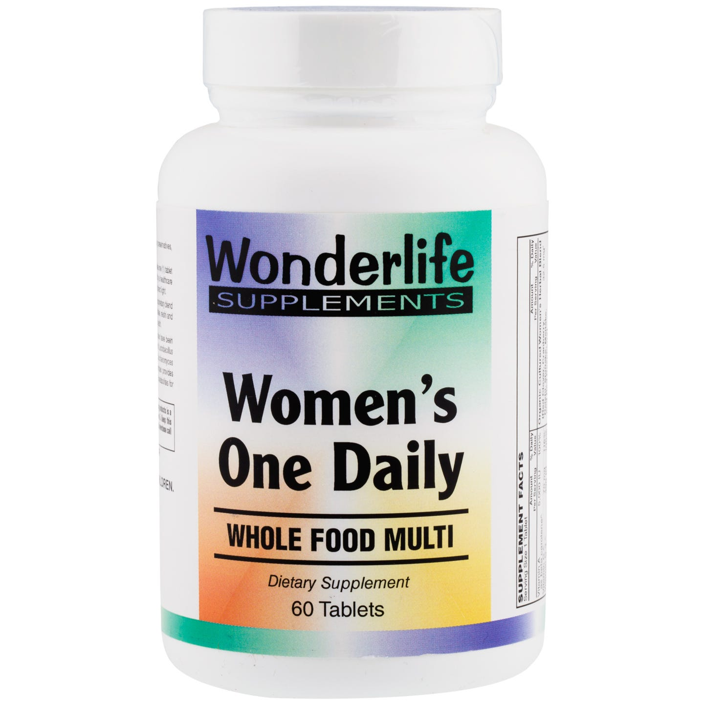 Women's One Daily (60 Tablets), Wonderlife - Rapid Diet Weight Loss Products Shop