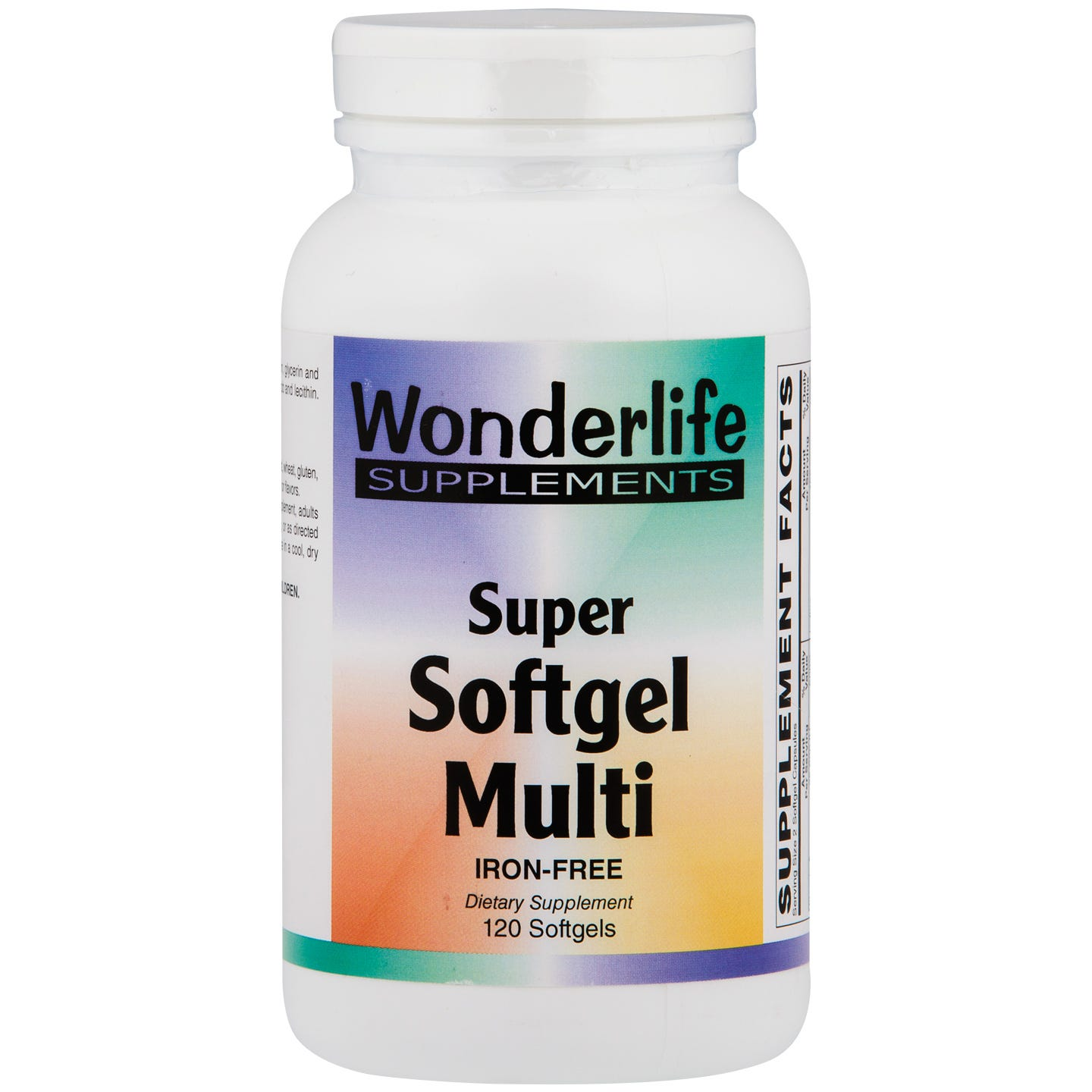 Super Softgel Multi Vitamin (120 ct), Wonderlife - Rapid Diet Weight Loss Products Shop