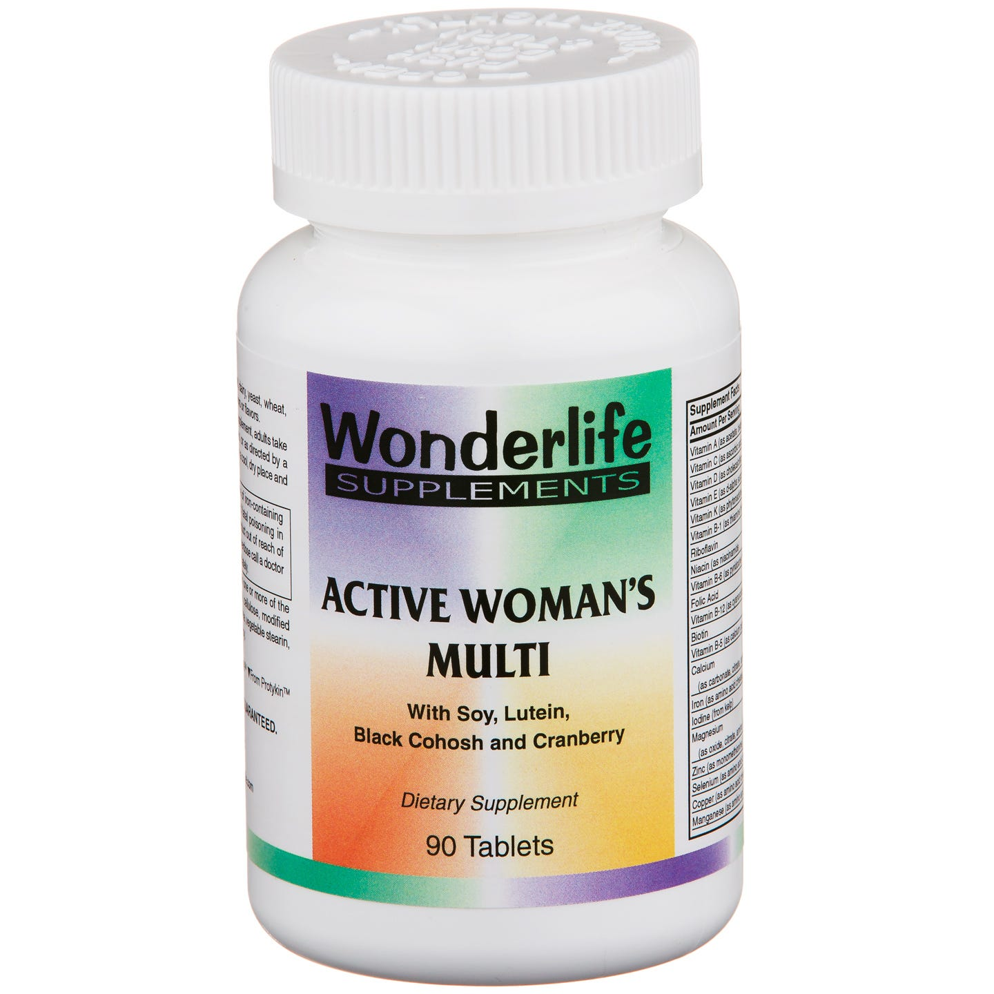 Active Woman's Multi Vitamin (90 ct) - Wonderlife - Rapid Diet Weight Loss Products Shop