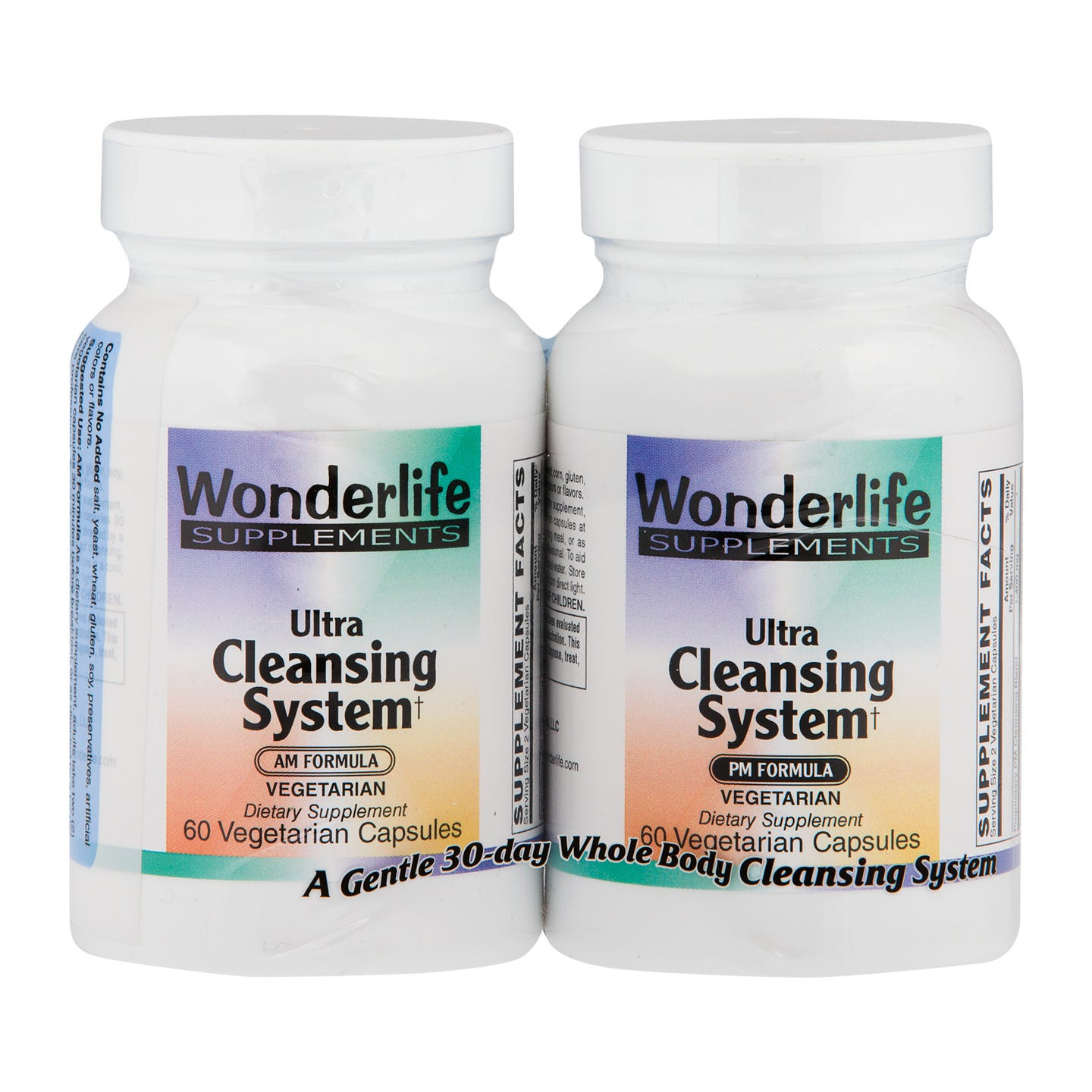 Ultra Cleansing System AM/PM Kit  (120 ct), Wonderlife - Rapid Diet Weight Loss Products Shop
