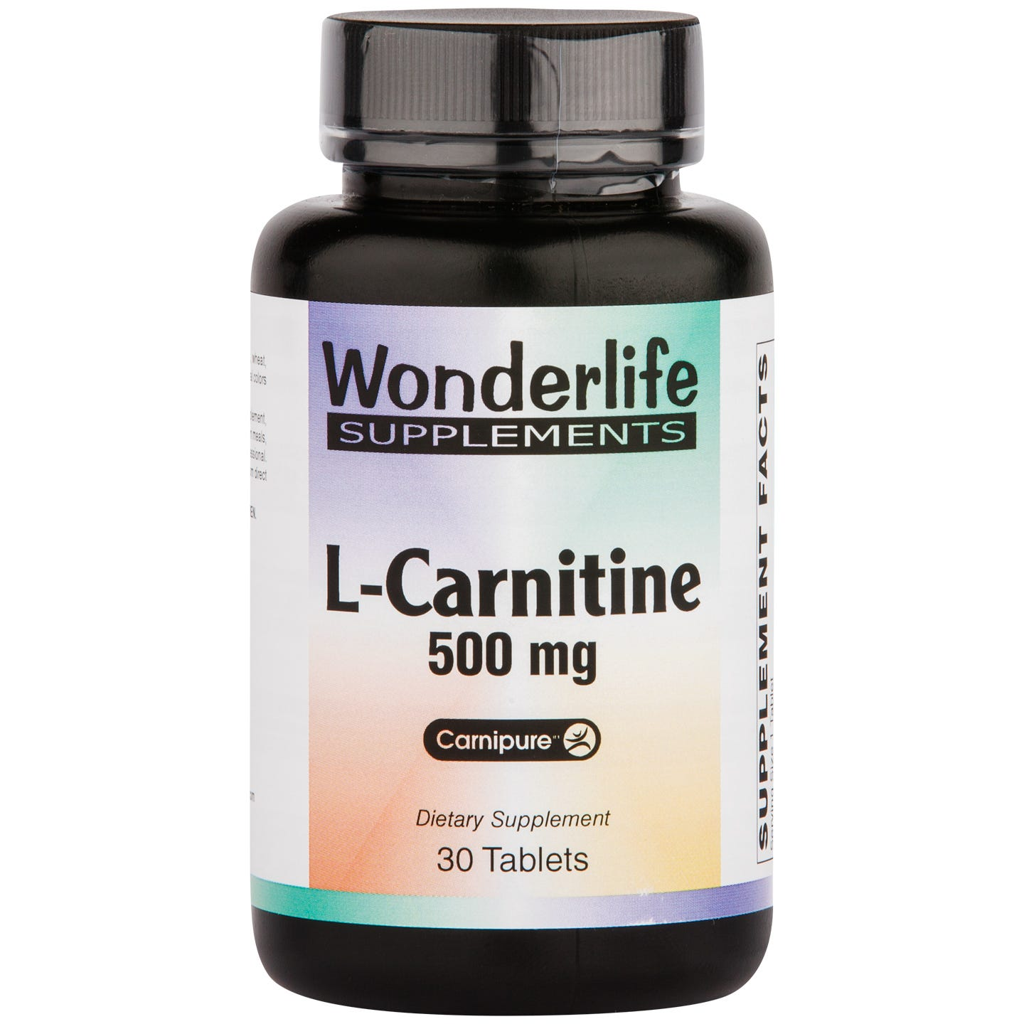 L-Carnitine 500 mg (30 ct) - Wonderlife - Rapid Diet Weight Loss Products Shop