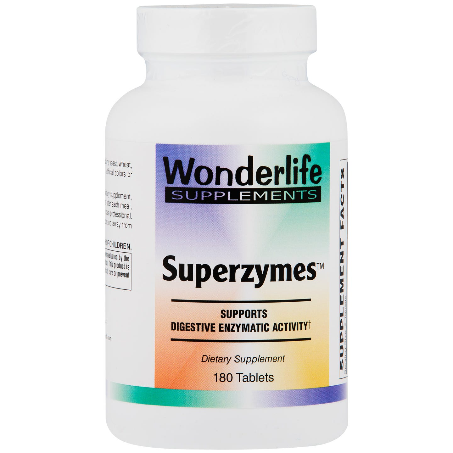 Superzymes (180 ct) - Wonderlife - Rapid Diet Weight Loss Products Shop