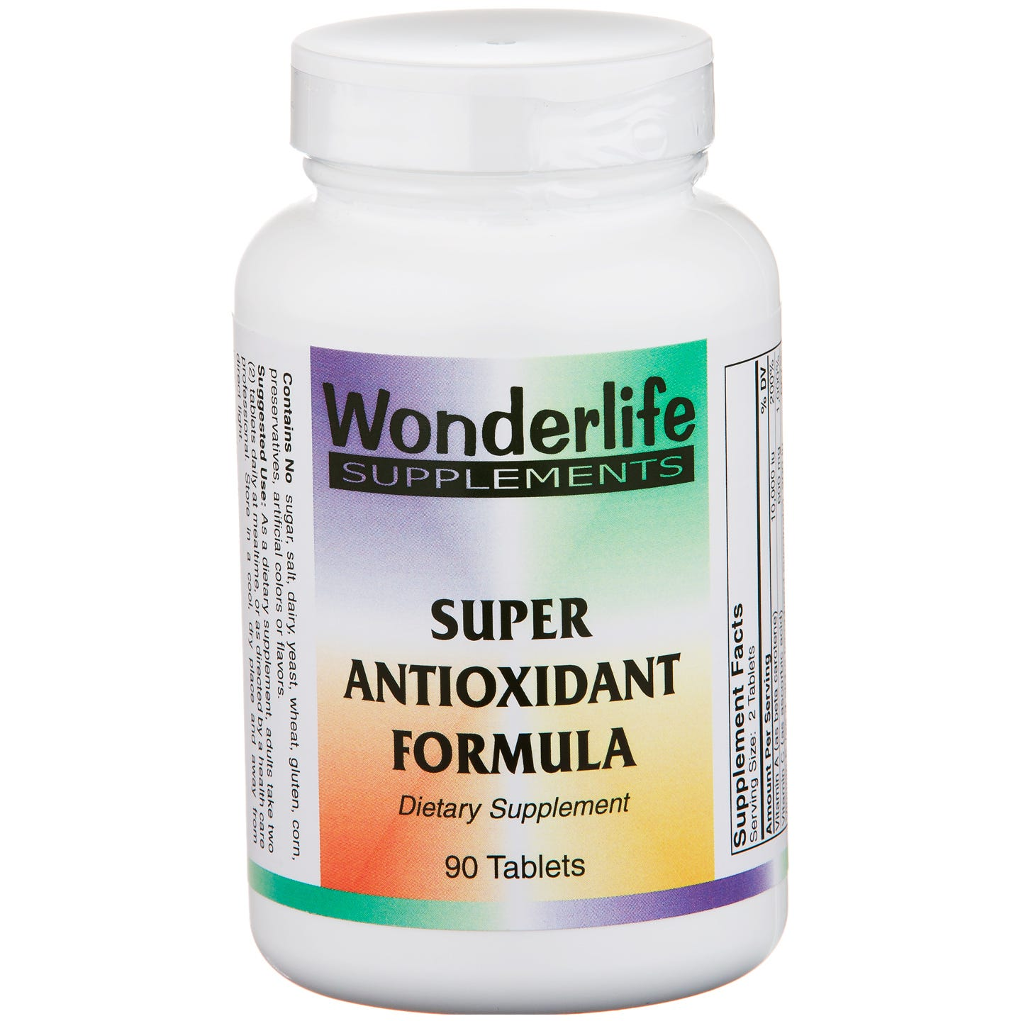 Super Antioxidant Formula (90 ct) - Wonderlife - Rapid Diet Weight Loss Products Shop