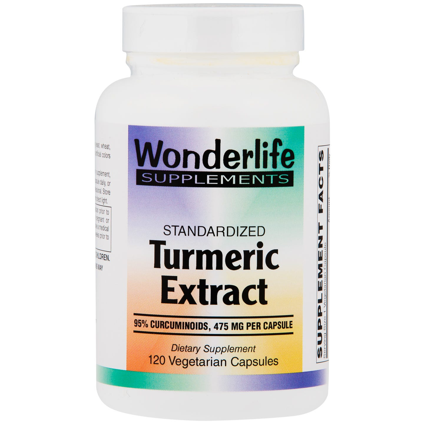 Turmeric Extract 500 mg (120 ct) - Wonderlife - Rapid Diet Weight Loss Products Shop