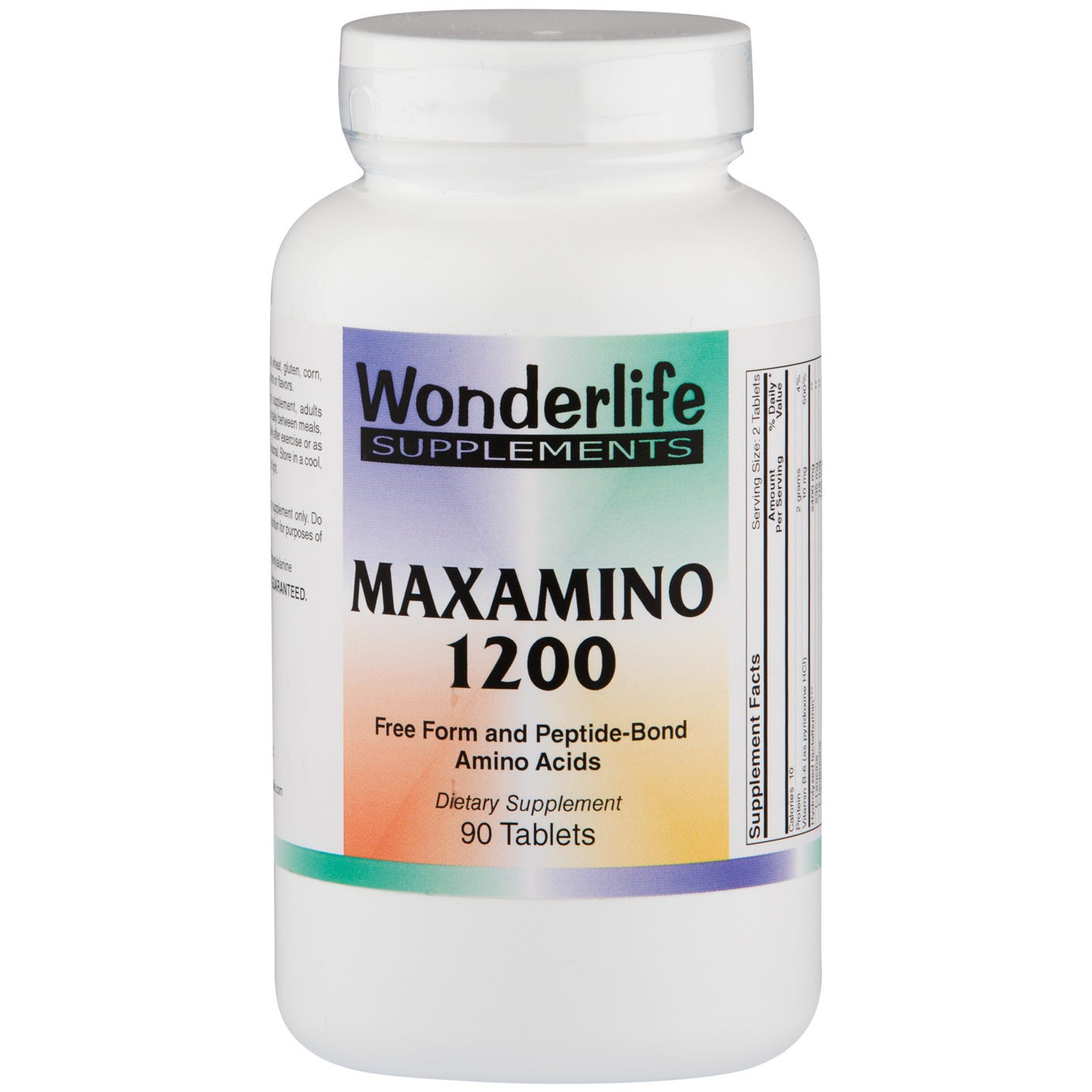 MaxAmino 1200 Amino Acids (90 ct) - Wonderlife - Rapid Diet Weight Loss Products Shop