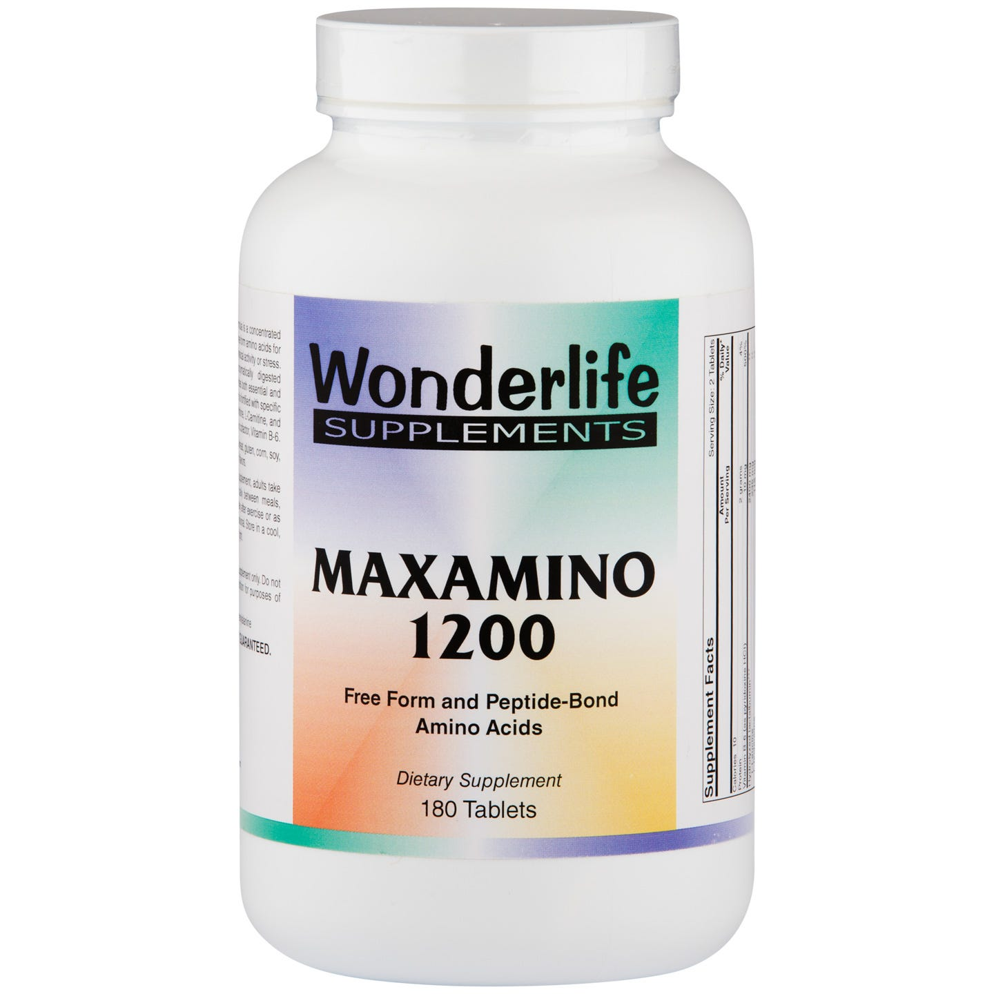MaxAmino 1200 Amino Acids (180 ct) - Wonderlife - Rapid Diet Weight Loss Products Shop