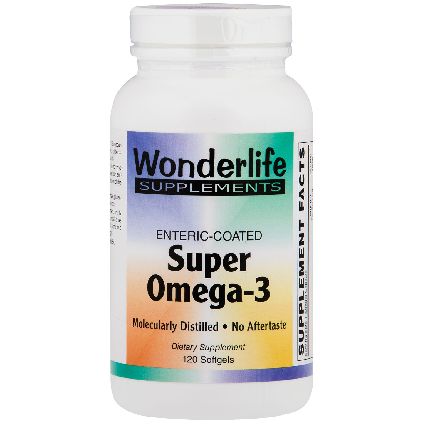 Super Omega-3, Enteric Coated Softgels (120 ct) , Wonderlife - Rapid Diet Weight Loss Products Shop