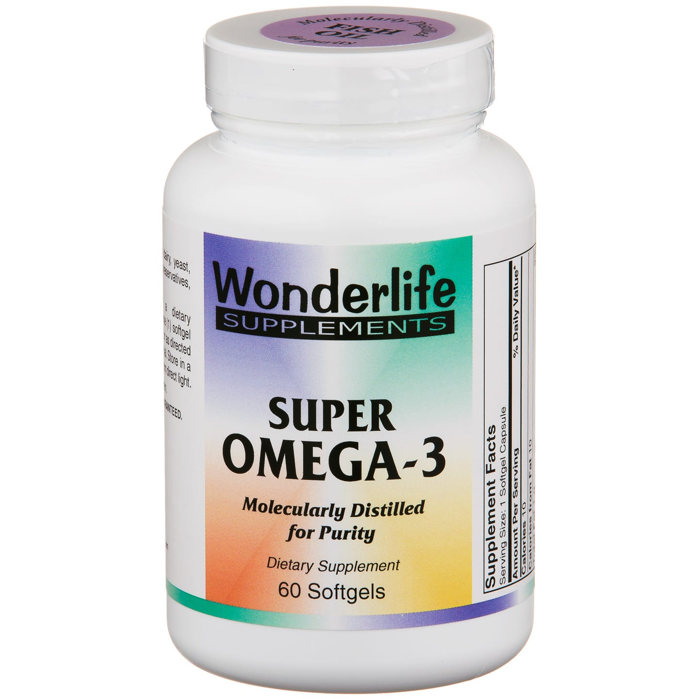 Super Omega-3 Essential Fatty Acids (60 ct) - Wonderlife - Rapid Diet Weight Loss Products Shop