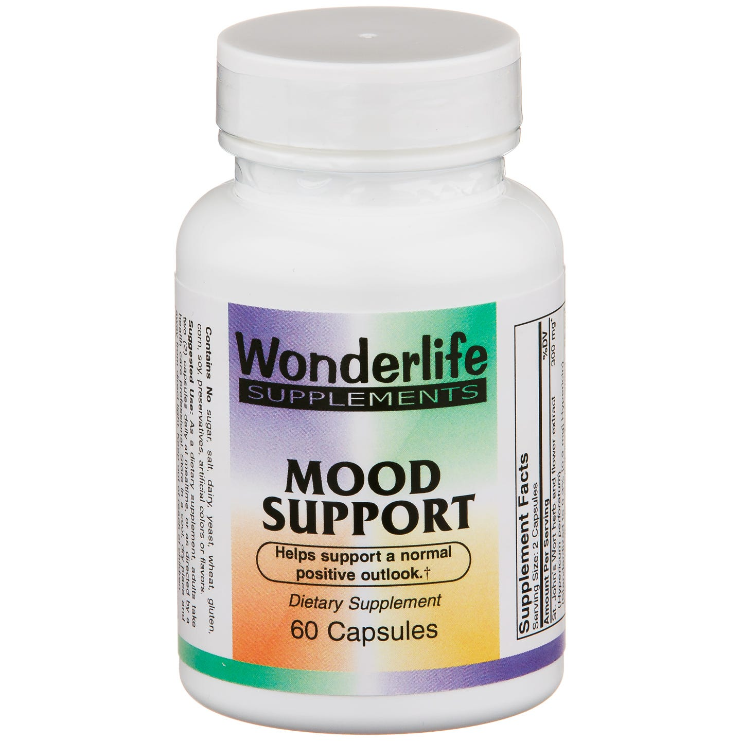 Mood Support (60 ct) - Wonderlife - Rapid Diet Weight Loss Products Shop