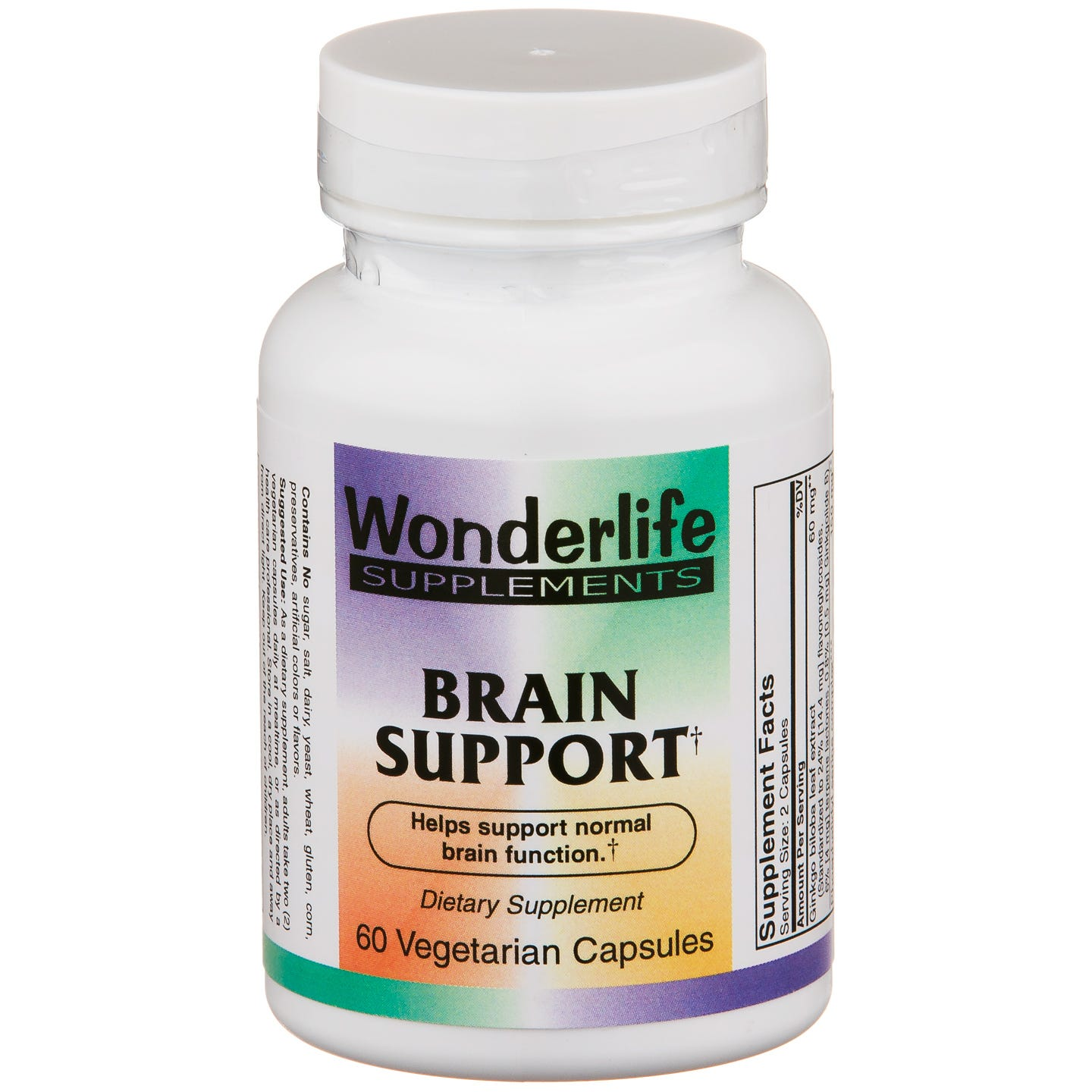 Brain Support (60 ct) - Wonderlife - Rapid Diet Weight Loss Products Shop