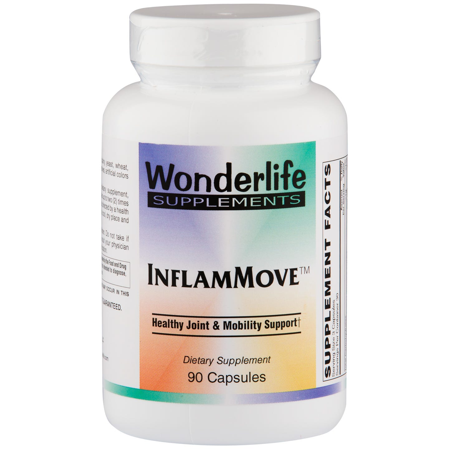 InflammMove Joint & Mobility Support (90 ct) - Wonderlife - Rapid Diet Weight Loss Products Shop