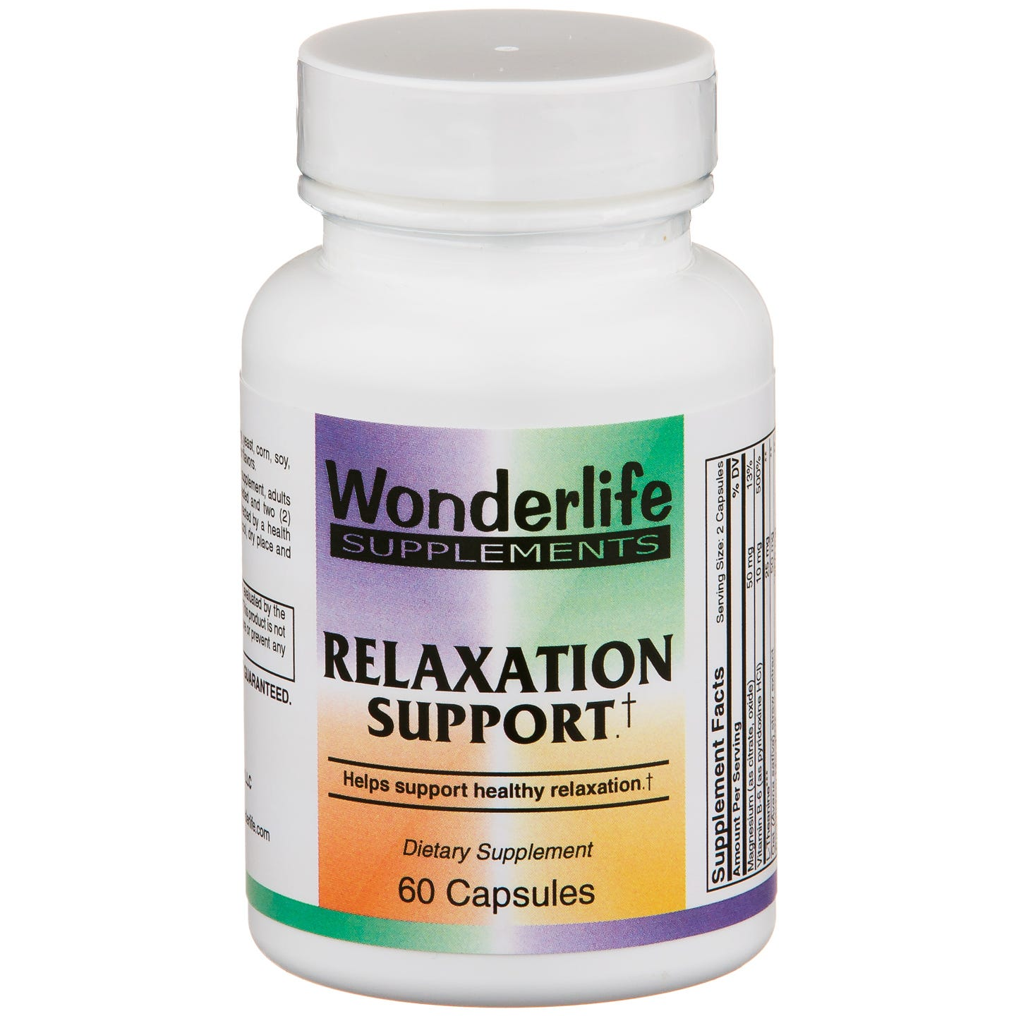 Relaxation Support (60 ct) - Wonderlife - Rapid Diet Weight Loss Products Shop