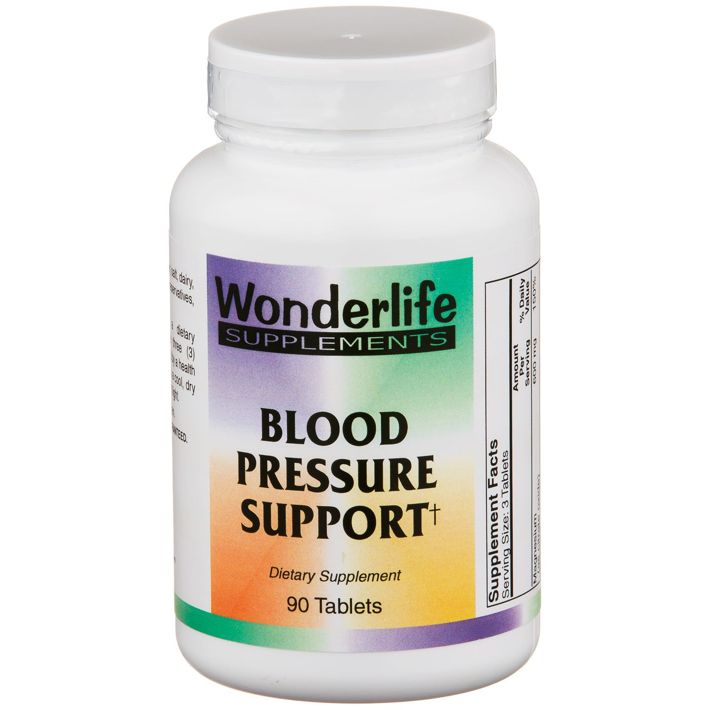 Blood Pressure Support (90 ct) - Wonderlife - Rapid Diet Weight Loss Products Shop