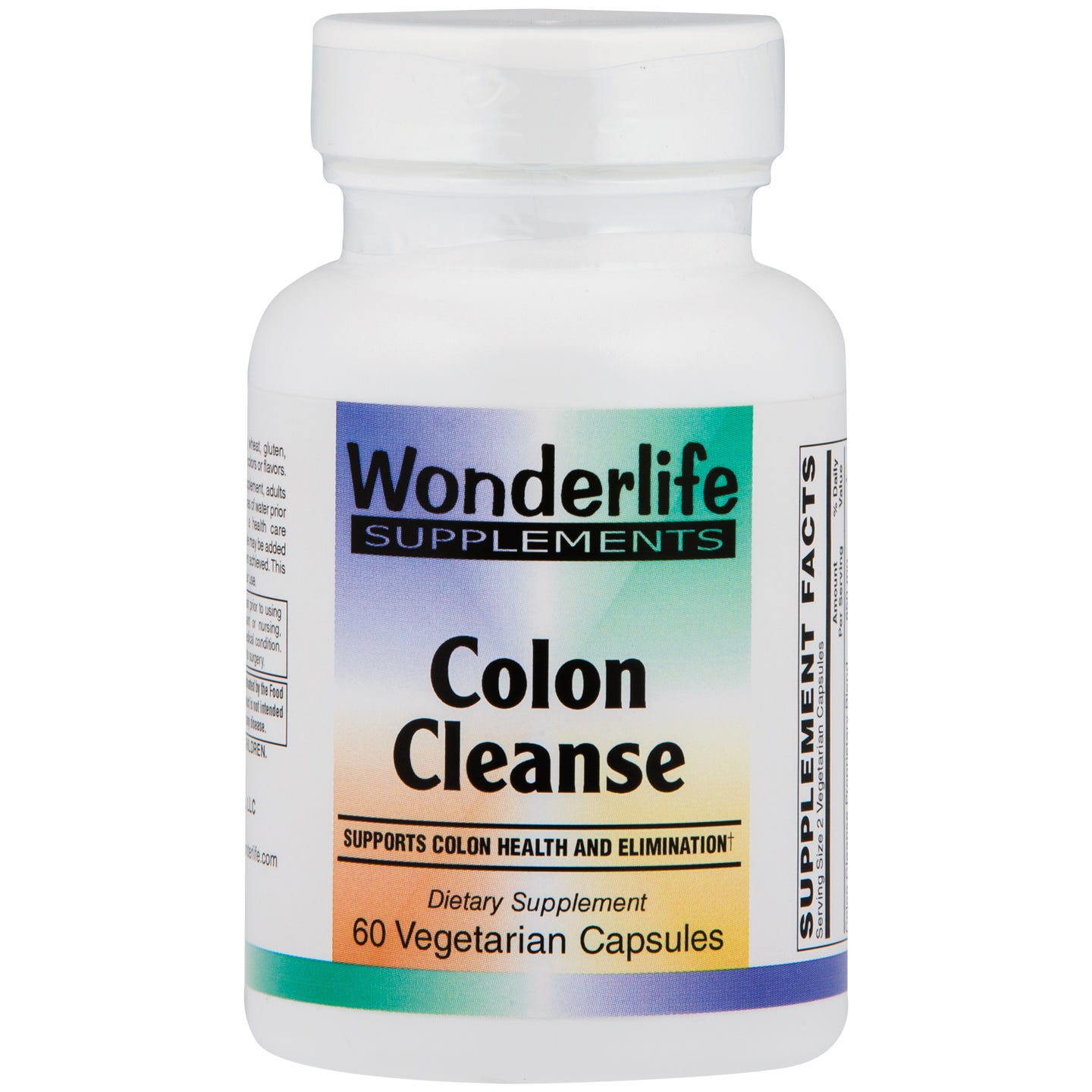 Colon Cleanse Vcaps (60 ct), Wonderlife - Rapid Diet Weight Loss Products Shop
