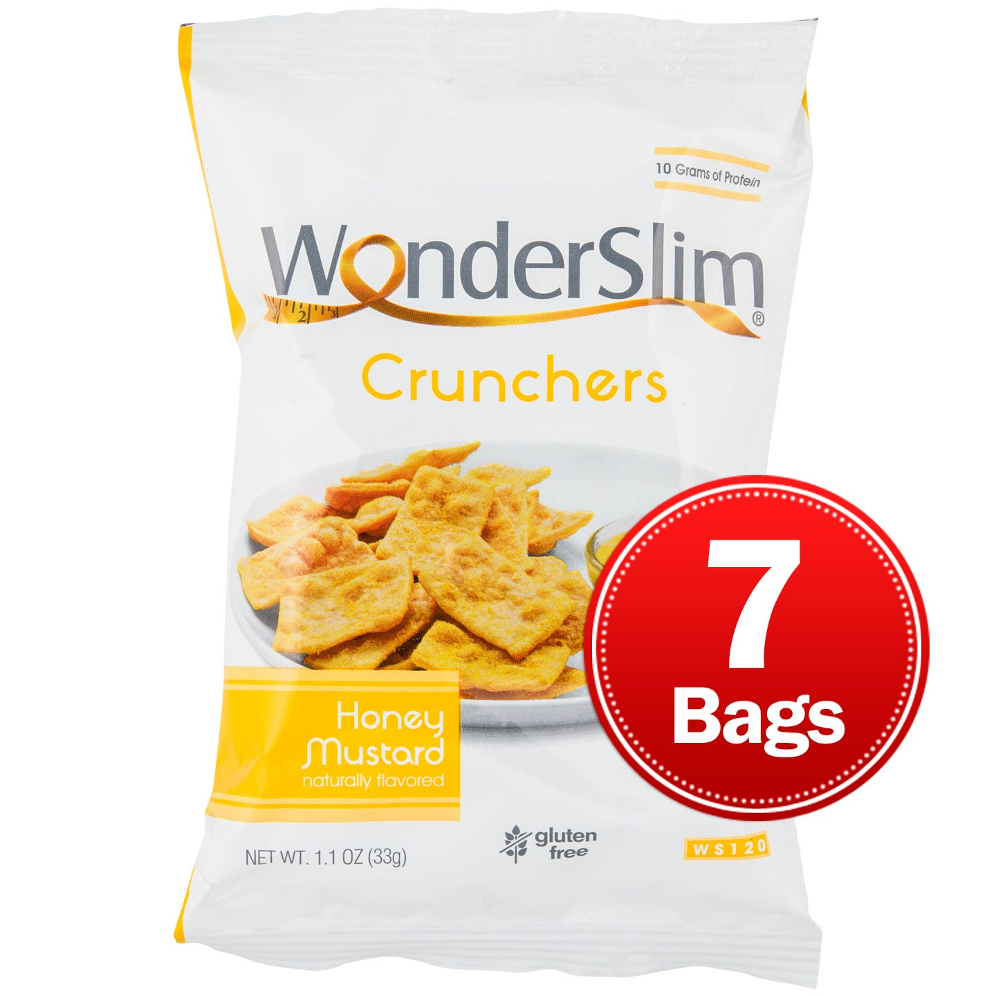 WonderSlim Honey Mustard Crunchers (7 pk) - Rapid Diet Weight Loss Products Shop