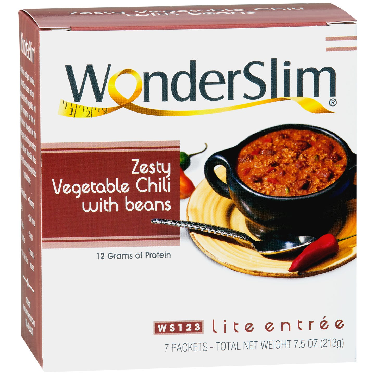 WonderSlim Chili with Beans