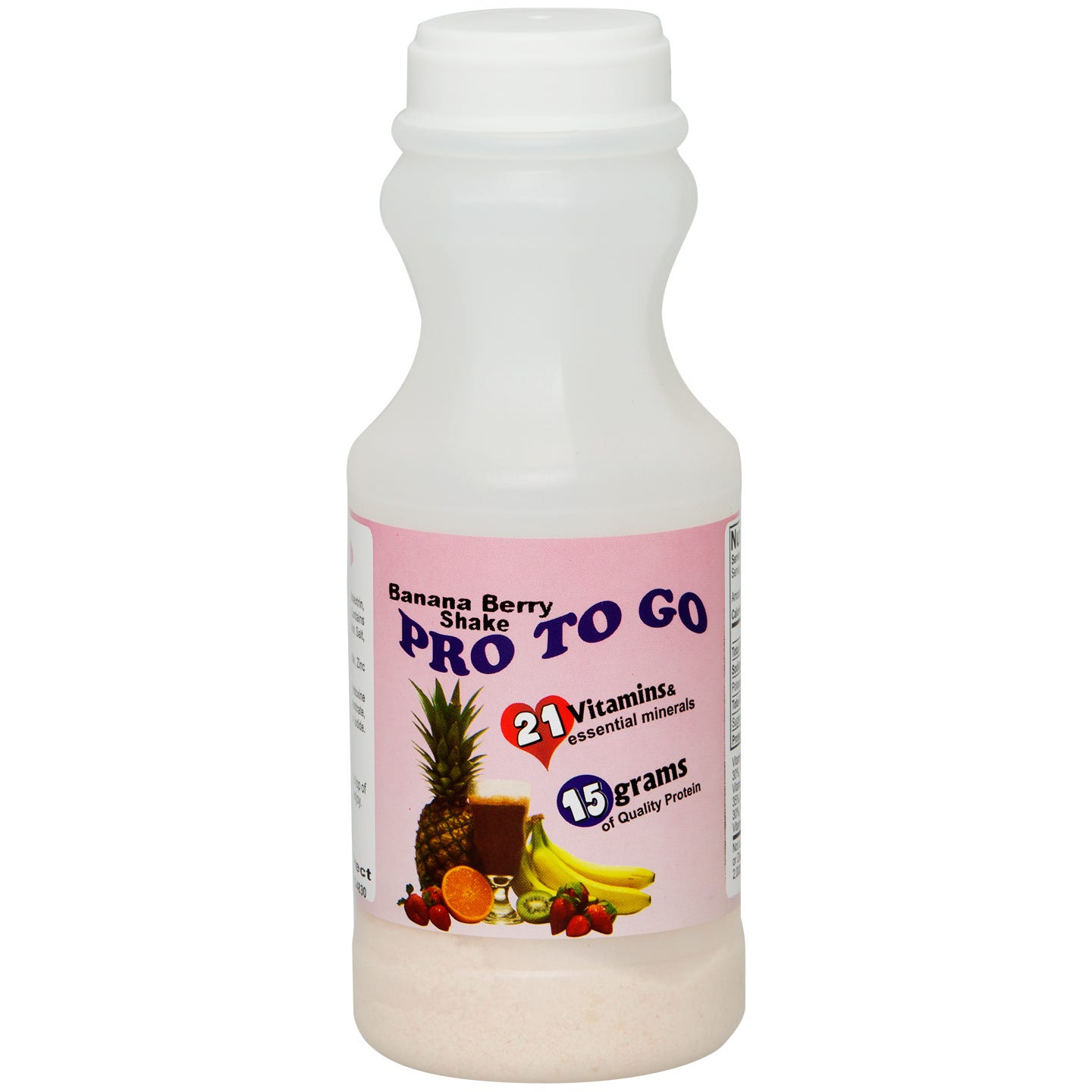 Pro To Go Protein Diet Drinks - Banana Berry Shake