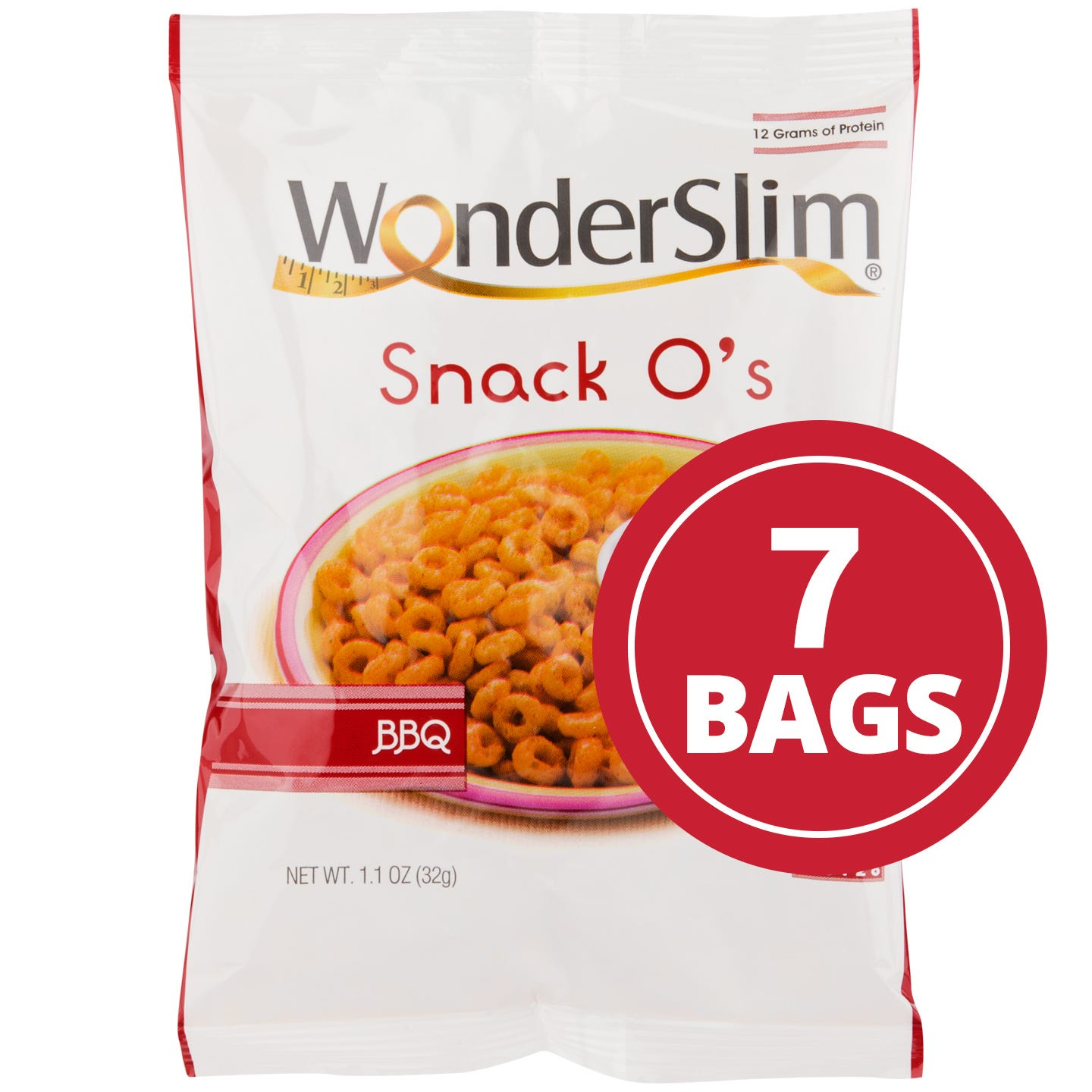WonderSlim Snack Os BBQ (7 Ct)