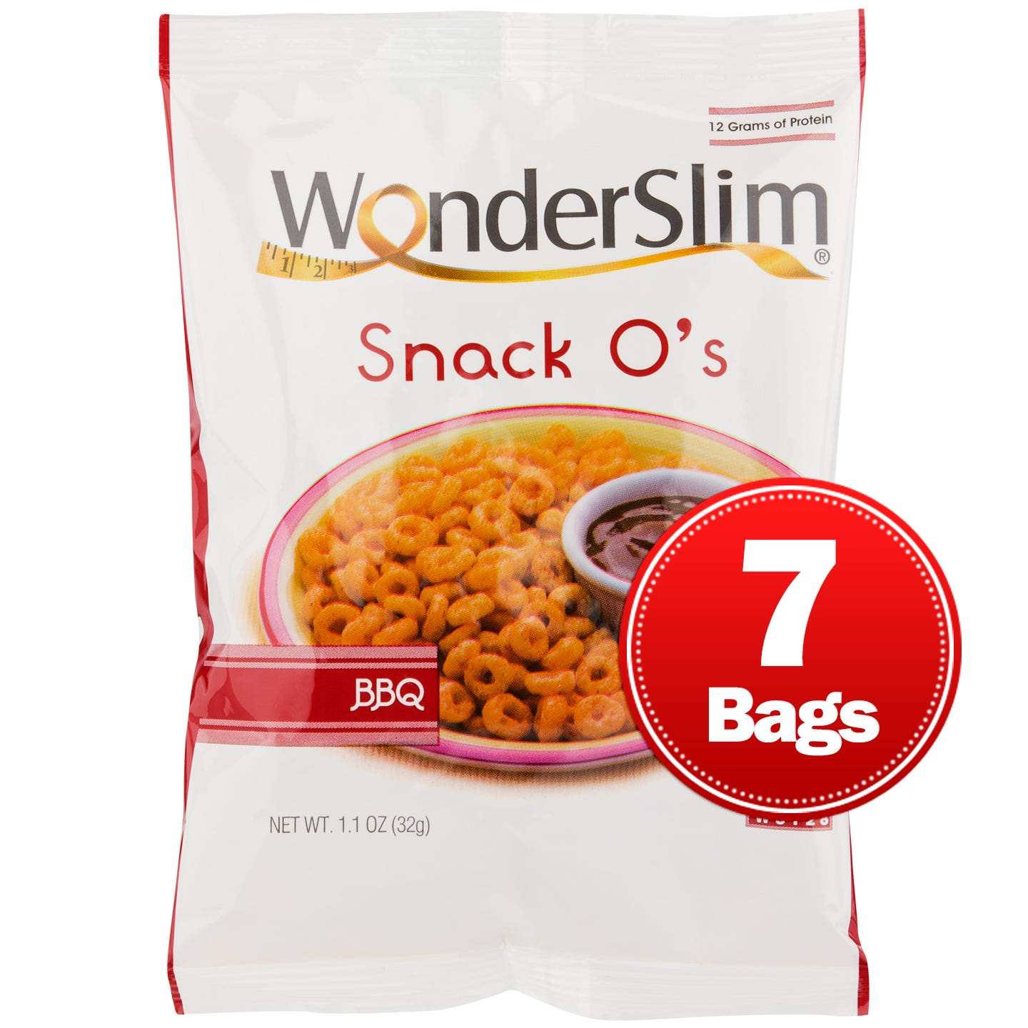 WonderSlim Snack Os BBQ (7 ct) - Rapid Diet Weight Loss Products Shop
