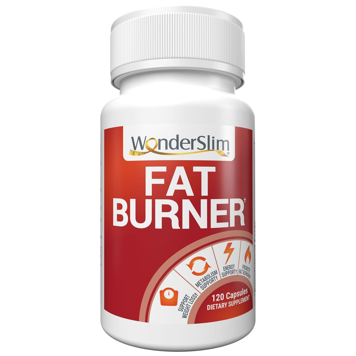 WonderSlim Fat Burner for Weight Loss Support (120ct)