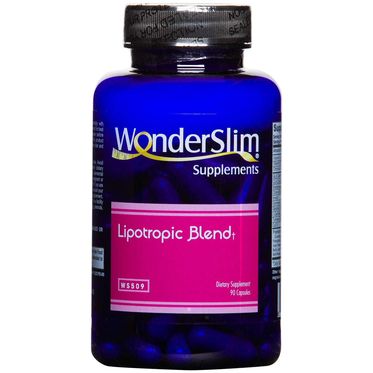 WonderSlim Lipotropic Blend (90 Ct)