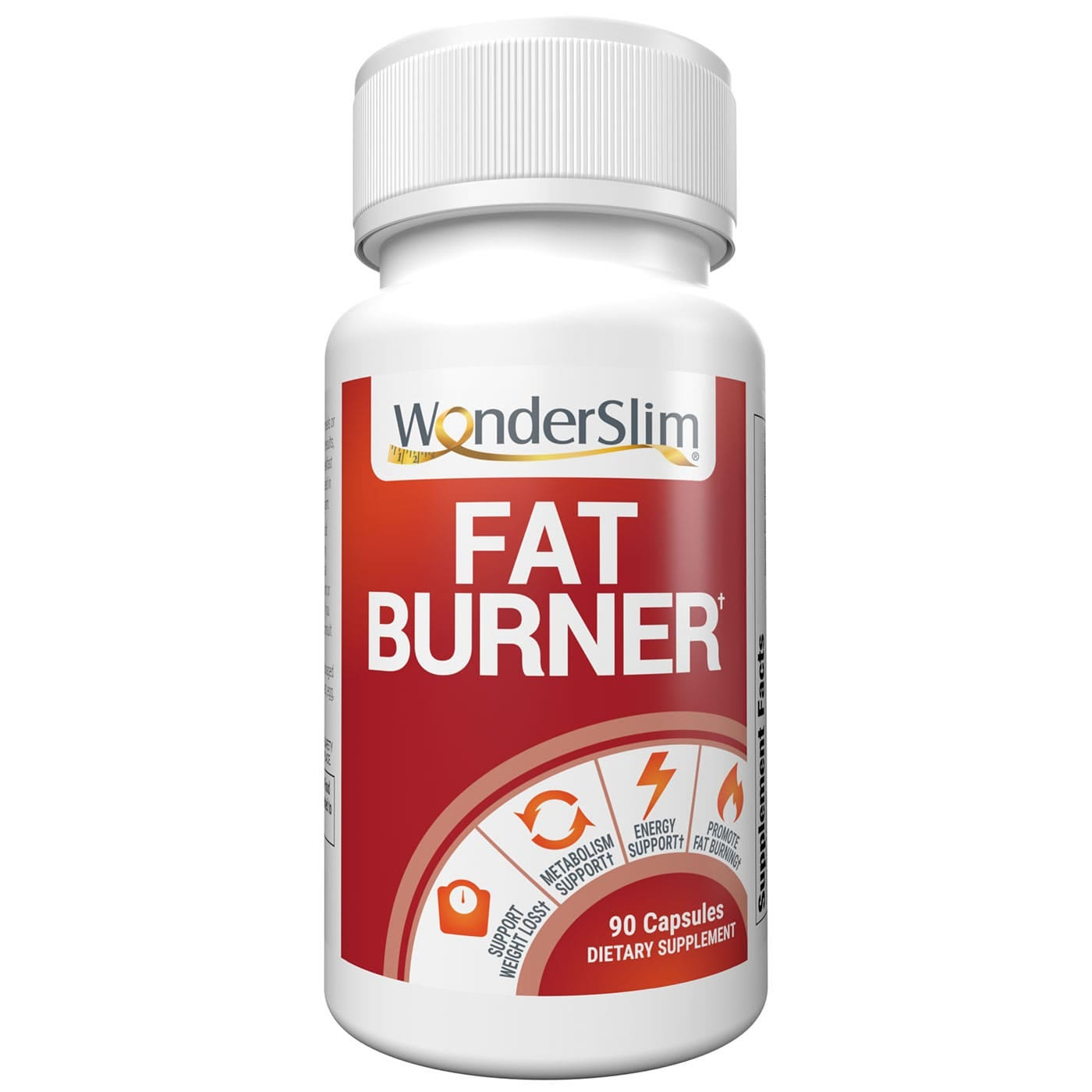 WonderSlim Fat Burner for Weight Loss Support (90ct)