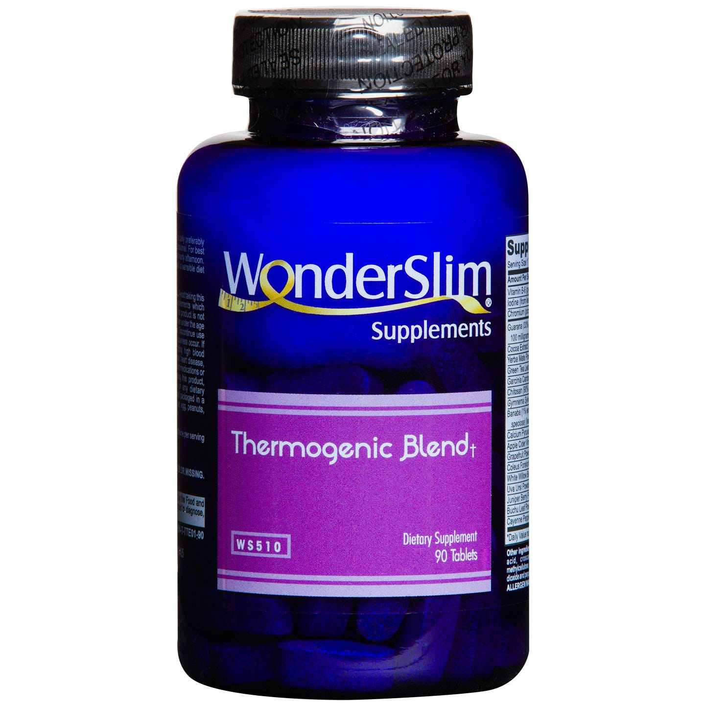 WonderSlim Thermogenic Blend (90 ct) - Rapid Diet Weight Loss Products Shop