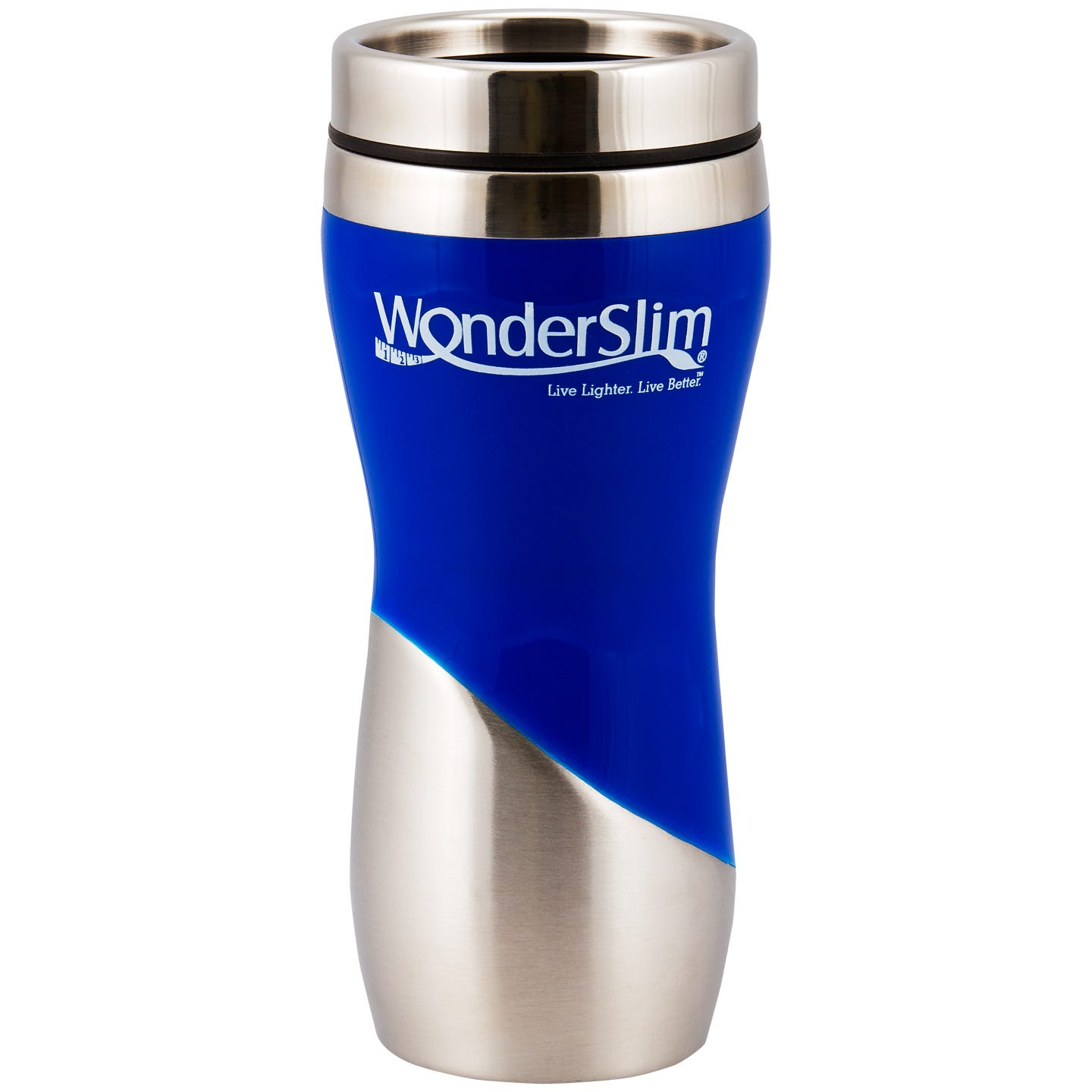 WonderSlim Travel Mug, 16oz  - Blue