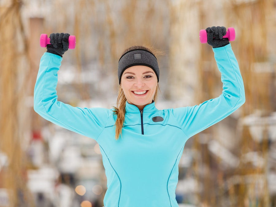 Why (and How) You Should Exercise Outside This Winter