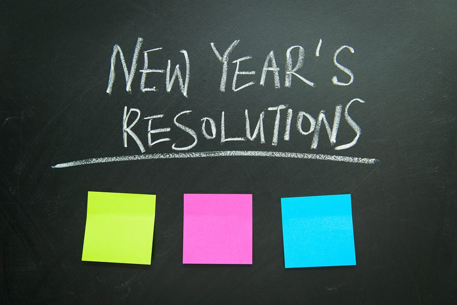 Our Ultimate Guide to New Year's Resolutions
