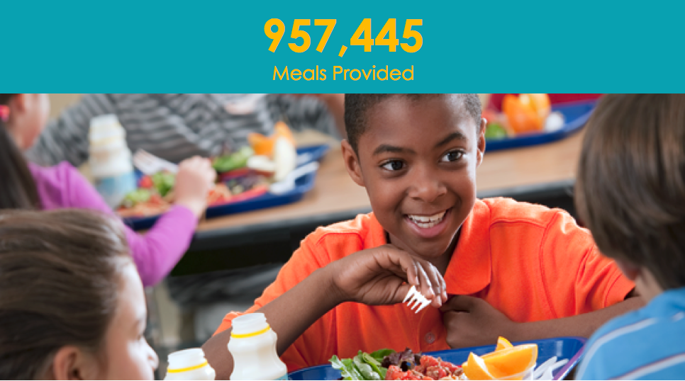 We're Closing in on Year-Long Goal of 1.3 Million Meals* to Fight Hunger