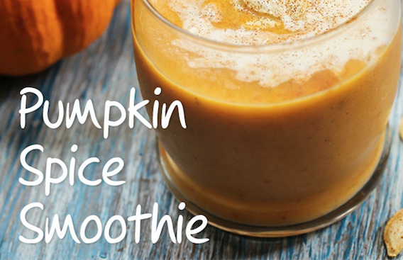 Low Fat Pumpkin Spice Smoothie Recipe