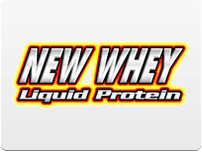 New Whey Liquid Protein Logo
