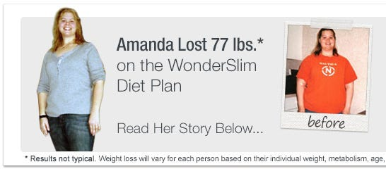 WonderSlim Weight Loss Success Story - Amanda