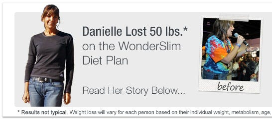 WonderSlim Weight Loss Success Story - Danielle